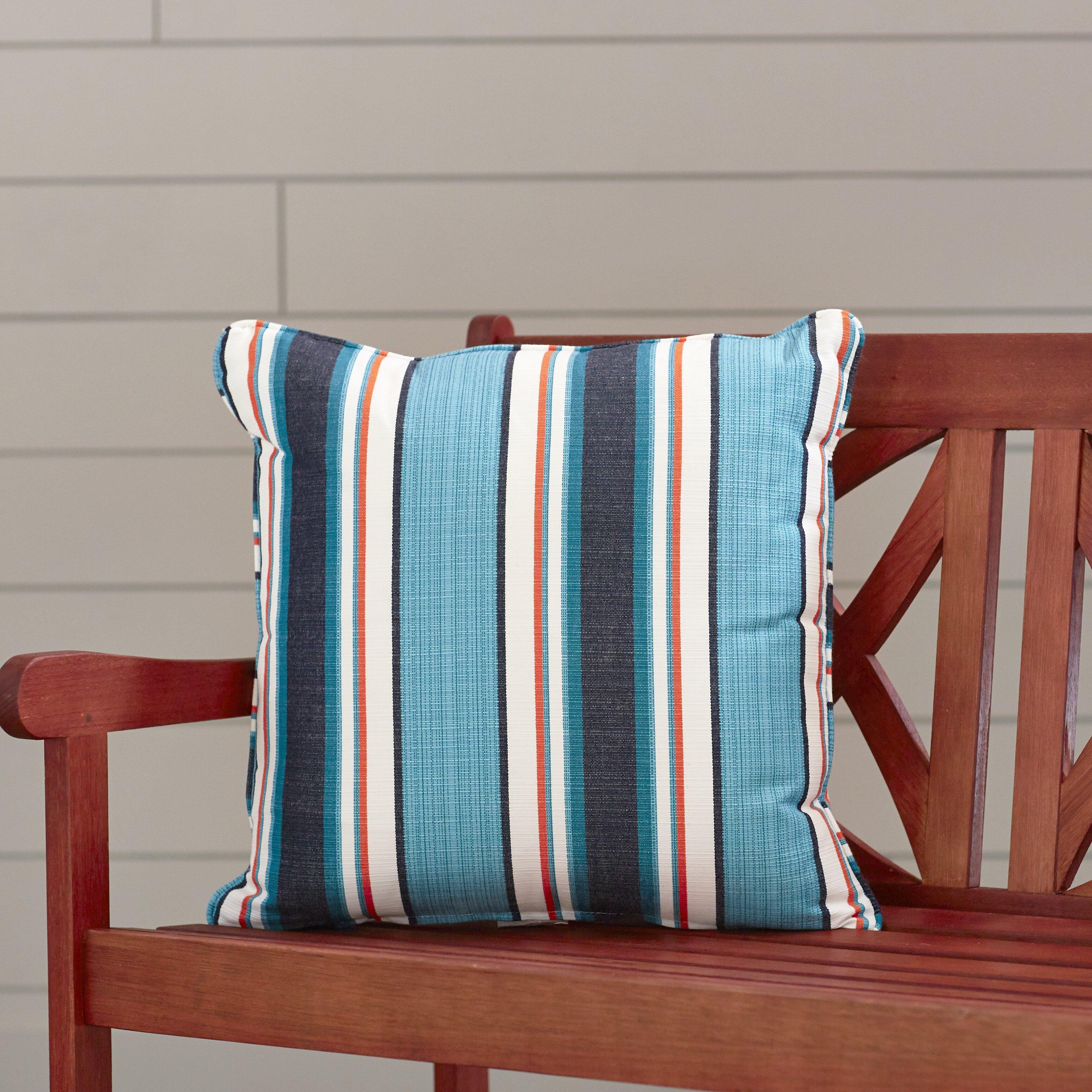Custom Sunbrella Throw Pillows : Wayfair Custom Outdoor Cushions Outdoor Sunbrella Throw Pillow & Reviews Wayfair.ca