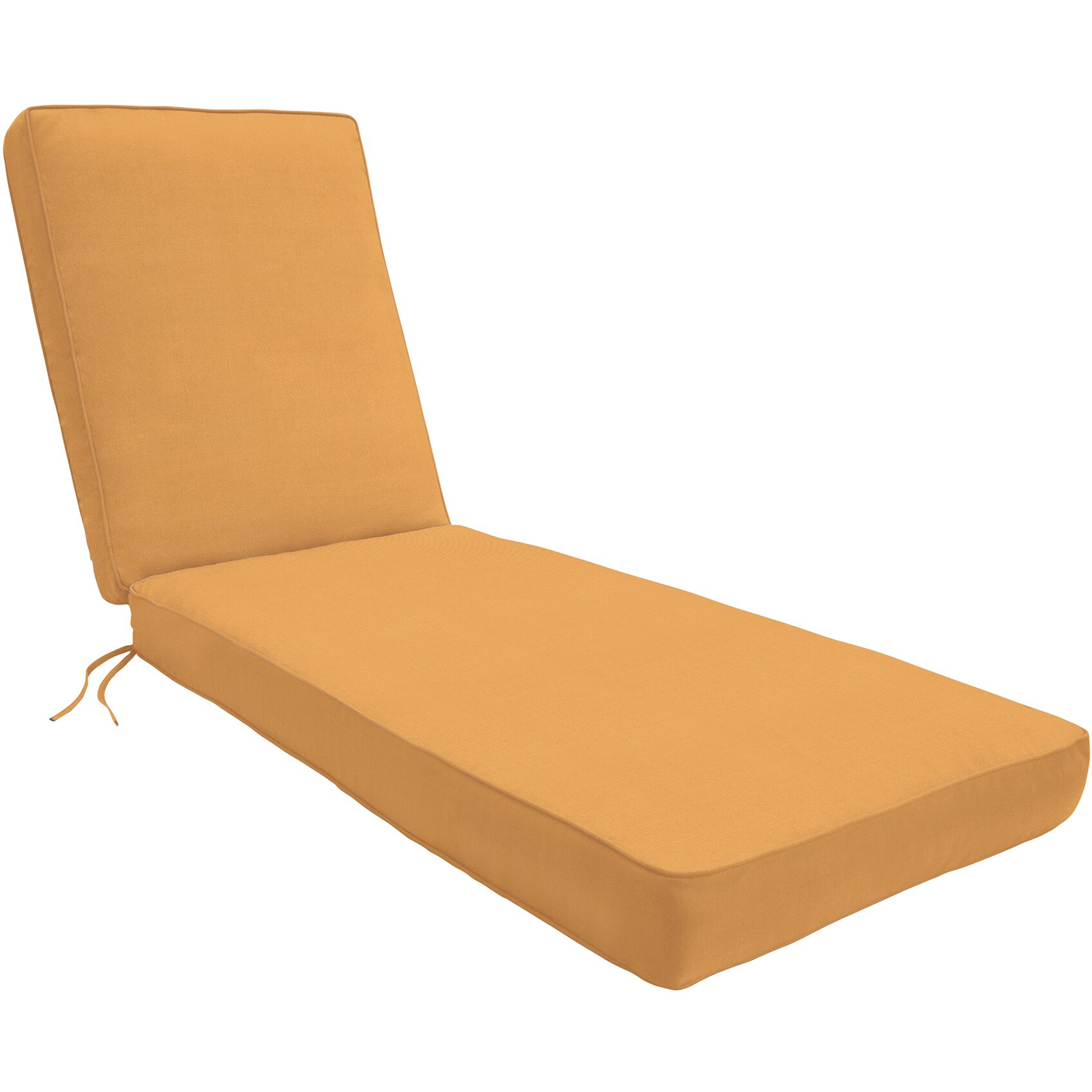 Wayfair custom outdoor cushions outdoor sunbrella chaise for Chaise longue cushions