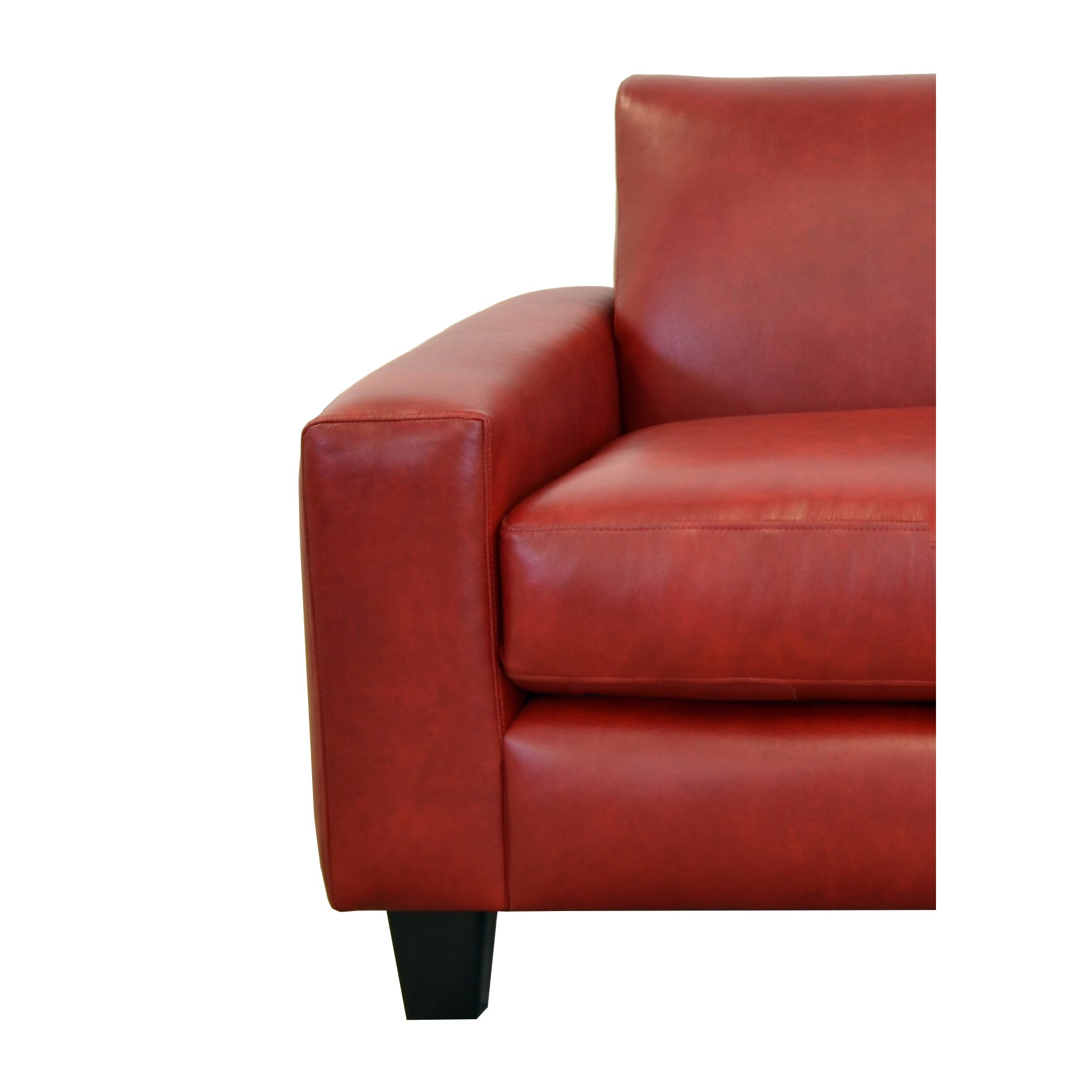 Best Genuine Leather Sectional Sofa: Westland And Birch Columbia Genuine Top Grain Leather Sofa