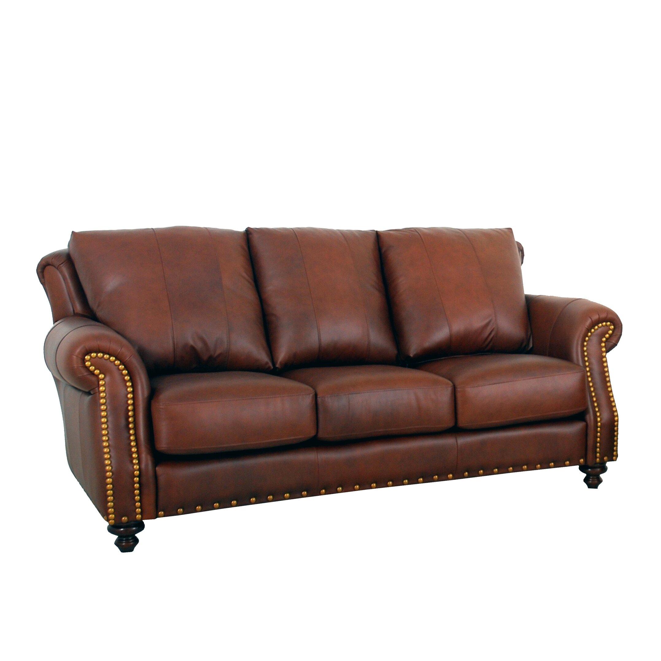 Westland And Birch Randolph Leather Sofa