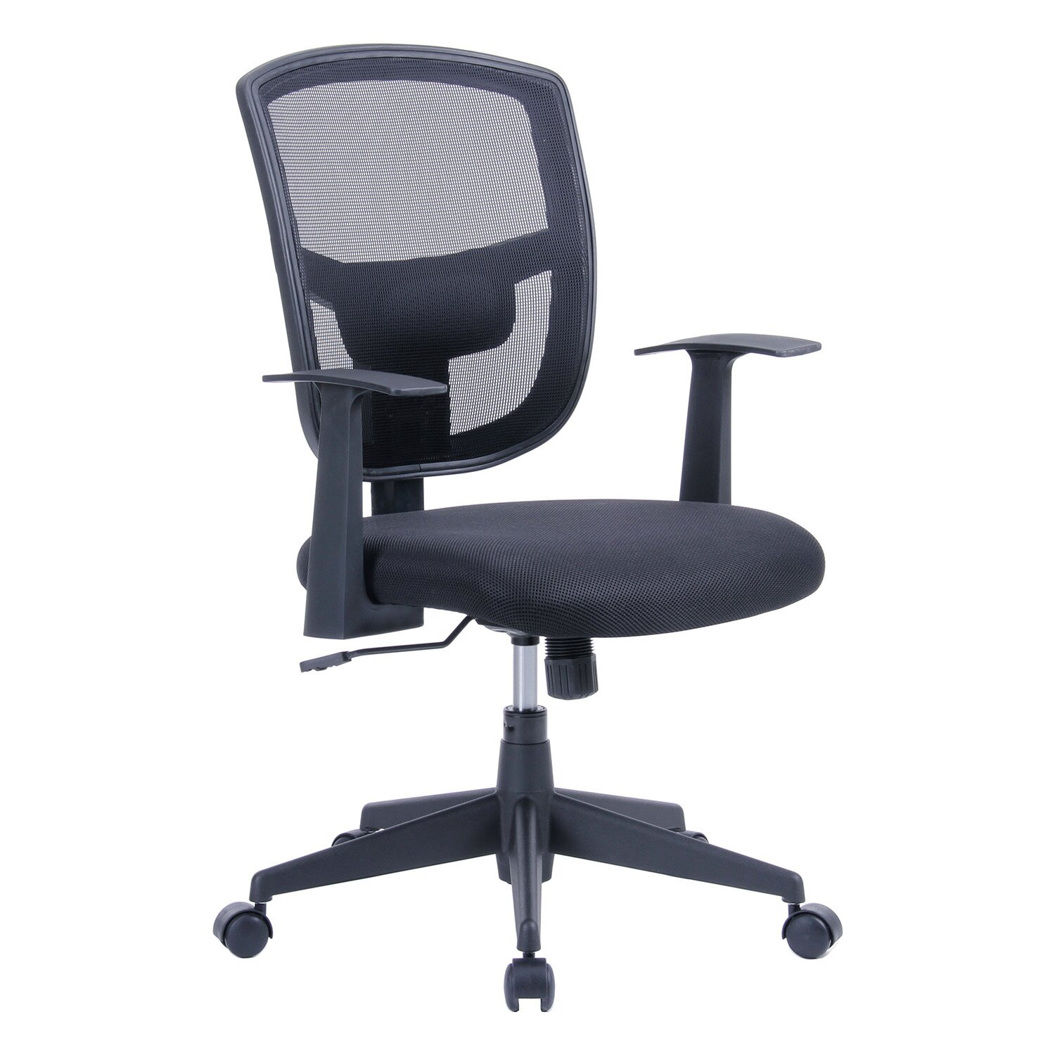 """Porthos Home Darius 35 8"""" Mid back Mesh fice Chair with"""