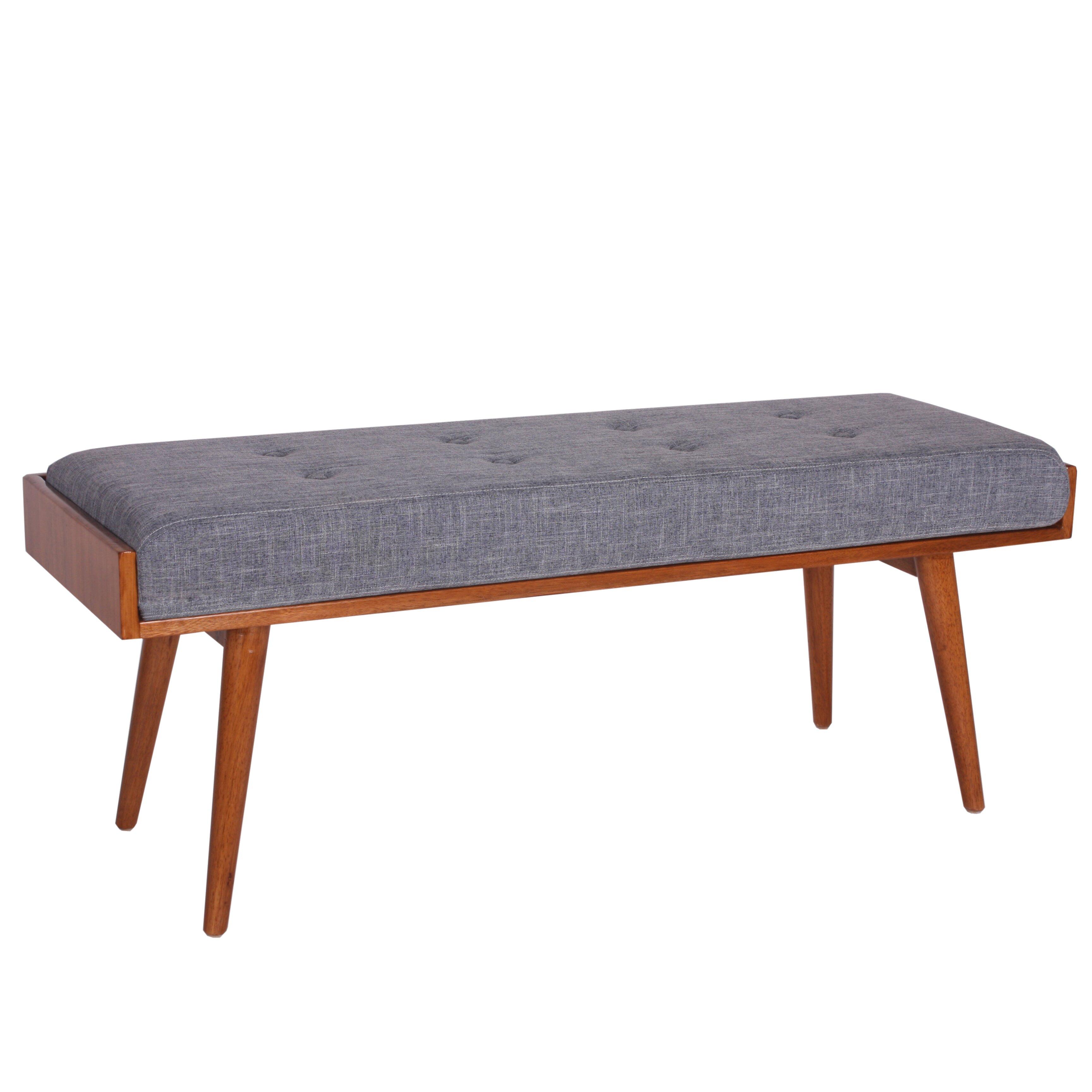 Porthos Home Aysel Upholstered Bedroom Bench Reviews Wayfair