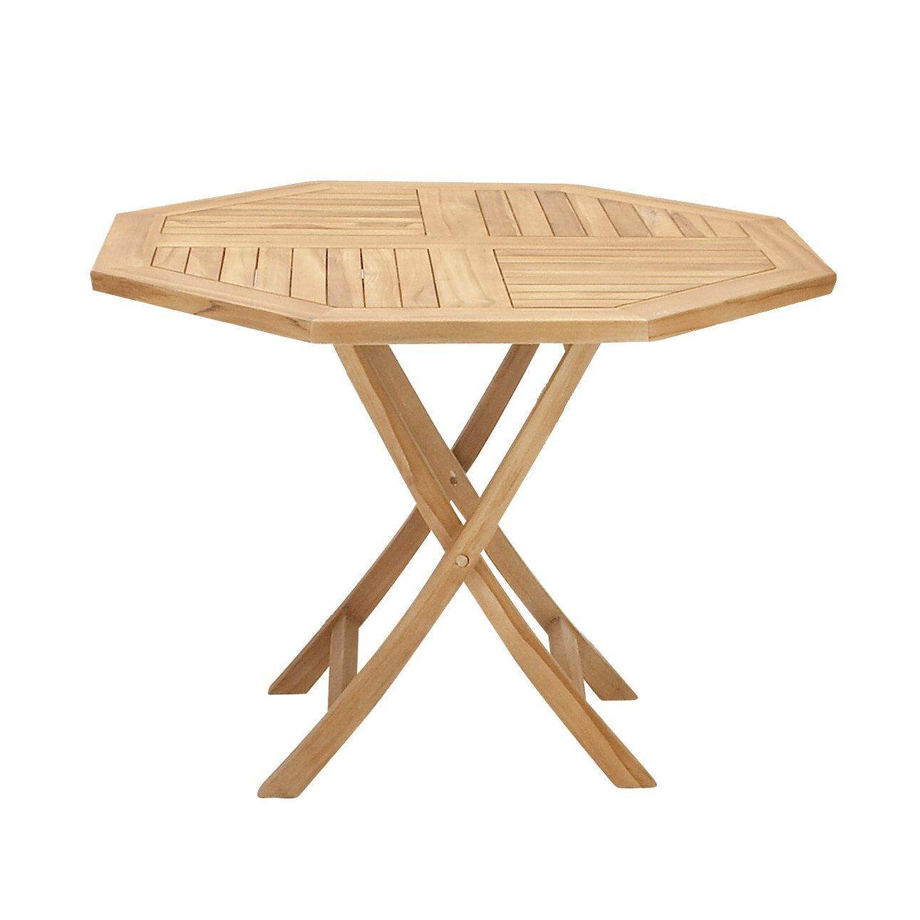 Urban Designs Teak Wood Folding Chair 5 Piece Dining Set  : Urban Designs Teak Wood Folding Chair 5 Piece Dining Set from www.wayfair.com size 1291 x 1291 jpeg 121kB