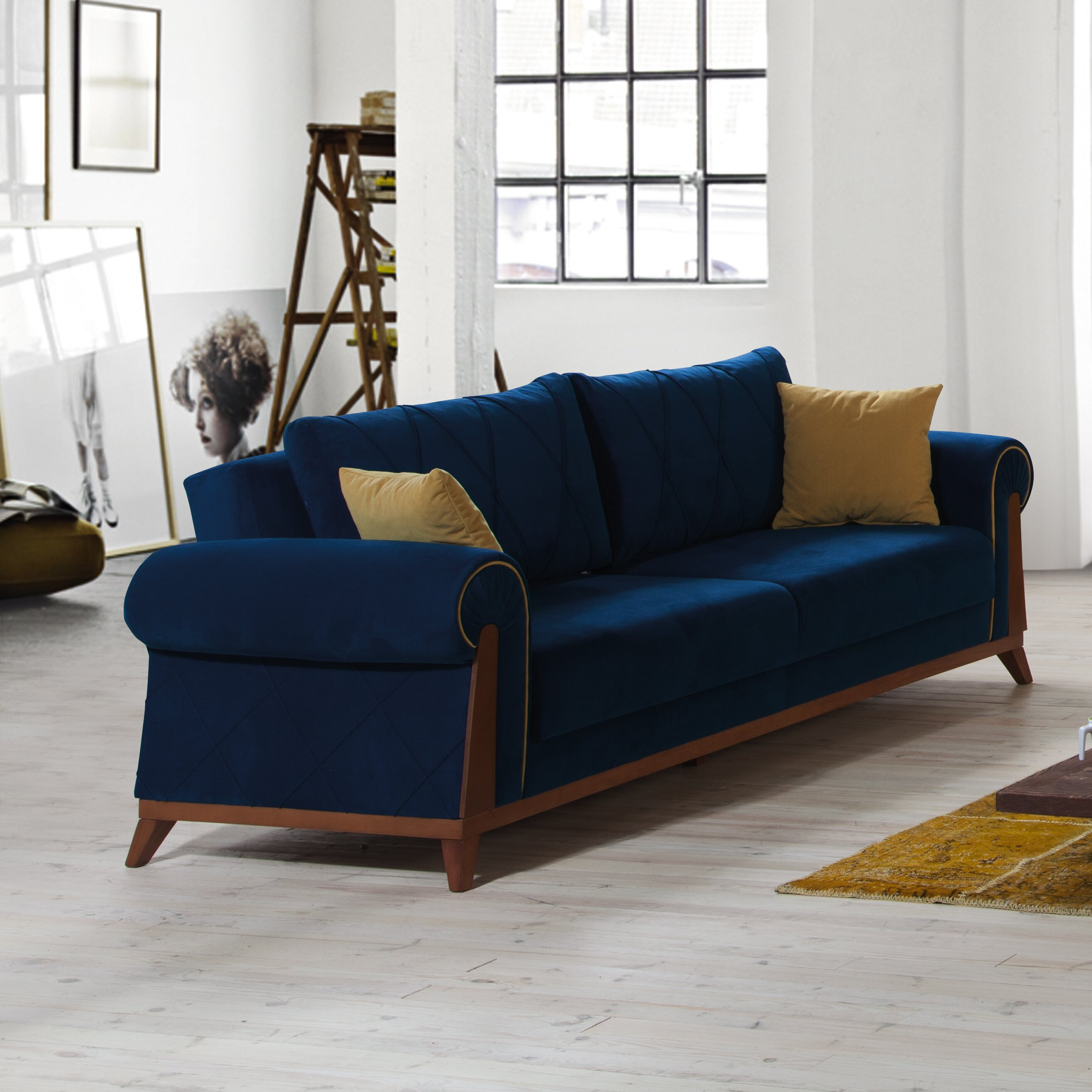 Perla Furniture London Sleeper Sofa & Reviews