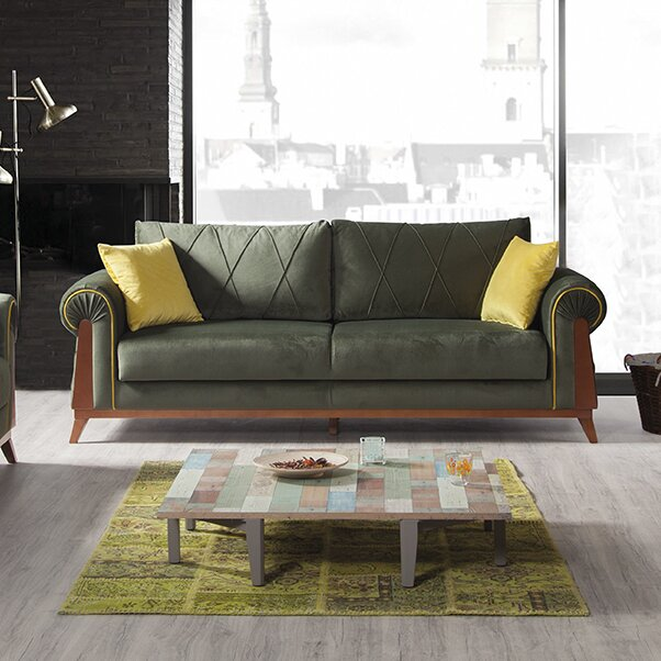 Perla Furniture London Sleeper Sofa Reviews Wayfair