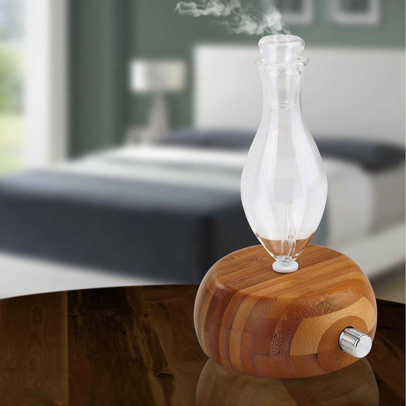 Welledia Pleasant Essential Oil Glass Nebulizing Diffuser
