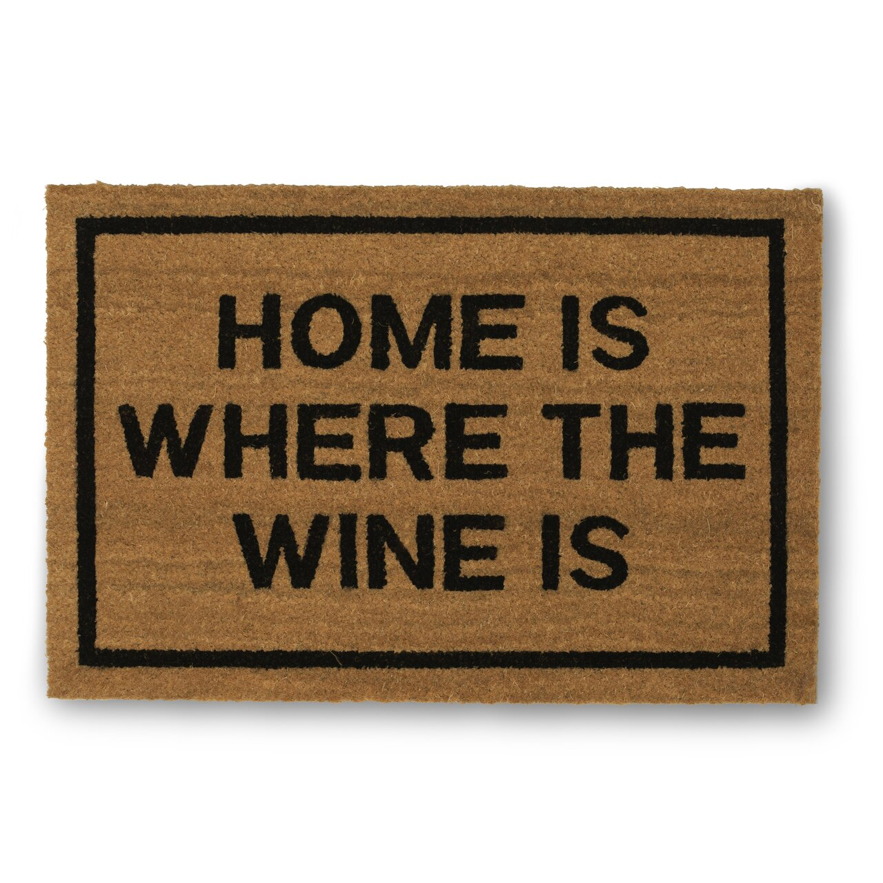 Clever doormats home is where the wine is coir doormat reviews wayfair - Clever doormats ...