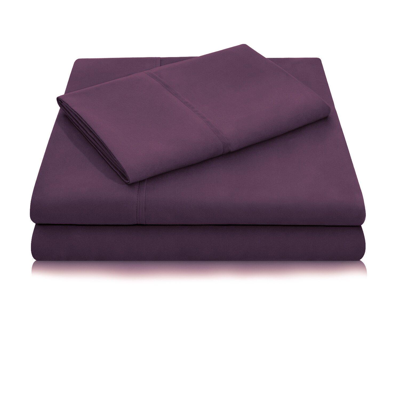 poraty luxury elegant designer collection bed deep pocket extra soft sheet set reviews wayfair. Black Bedroom Furniture Sets. Home Design Ideas