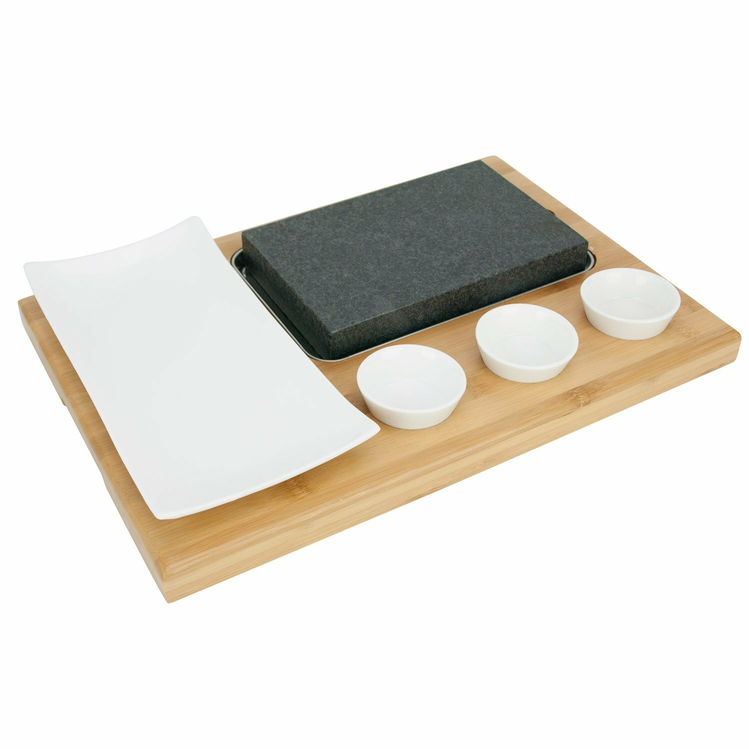 Poraty Steak Stone 7 Piece Hot Cooking Stone For Tabletop