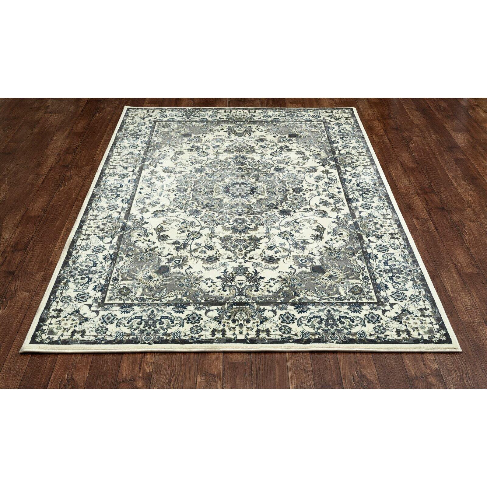 Art Carpet Chelsea Cream/Aqua Area Rug