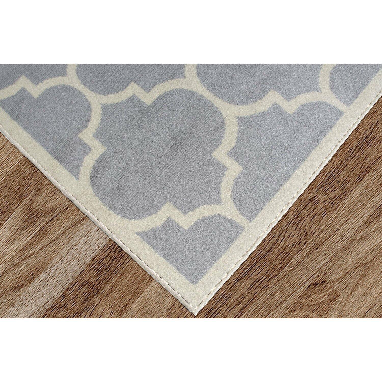 Berrnour Home Homesense Gray Area Rug | Wayfair