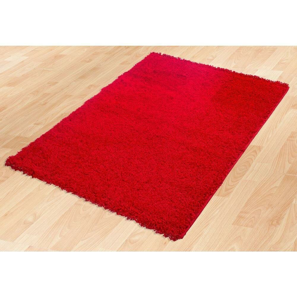 Berrnour Home Red Area Rug