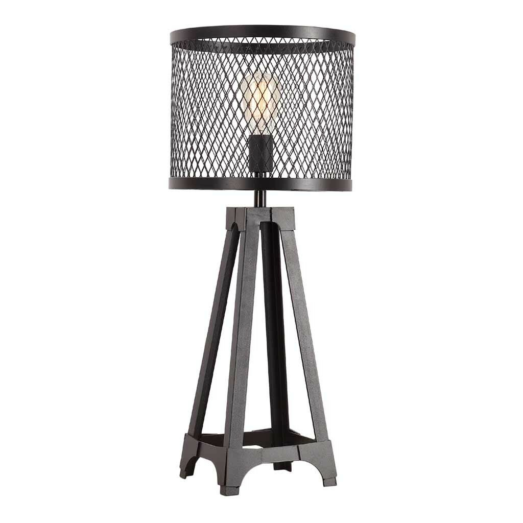 Urbanhomeindustrial foundry 29 table lamp reviews for Wayfair industrial lamp