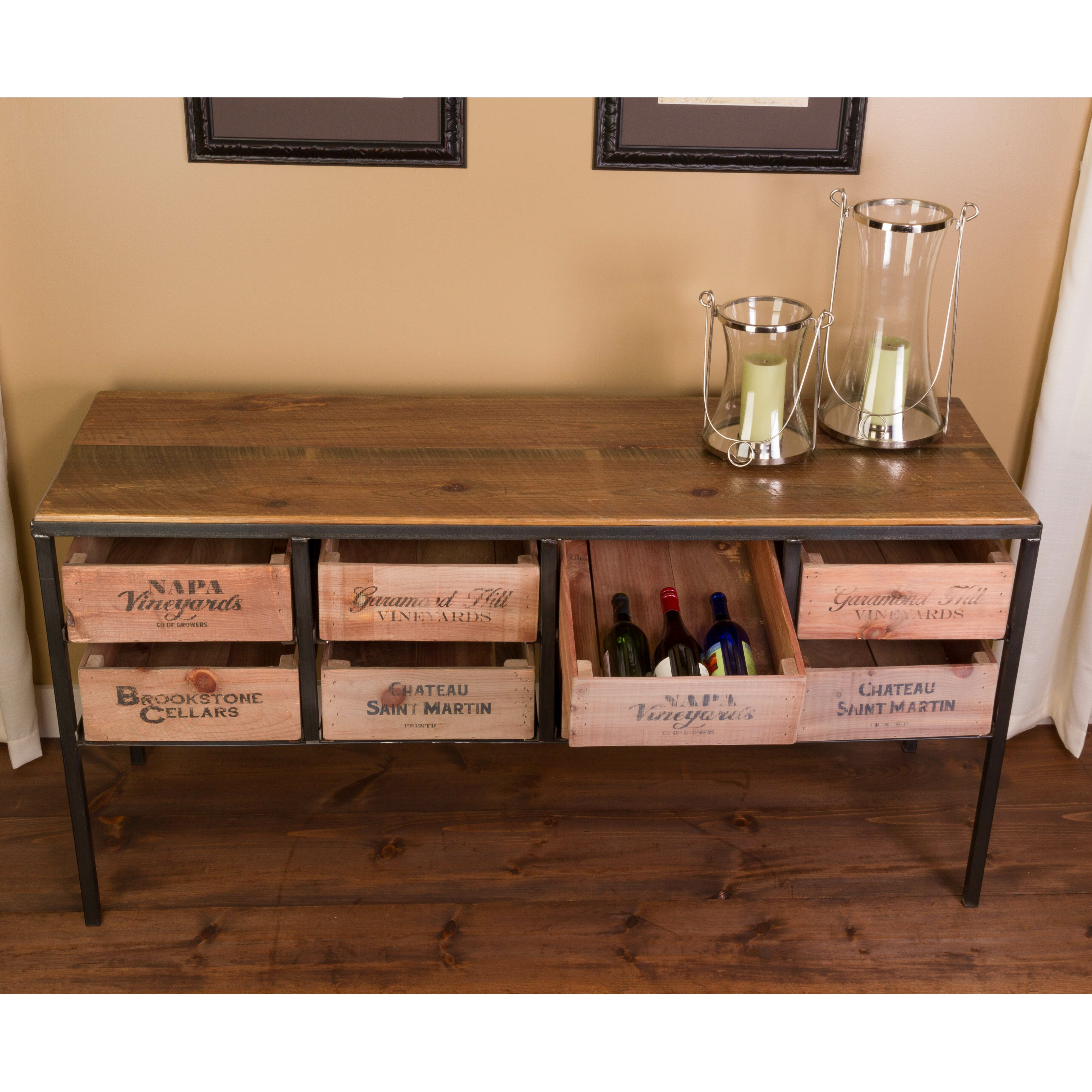Vino vintage console table reviews wayfair Retro sofa table
