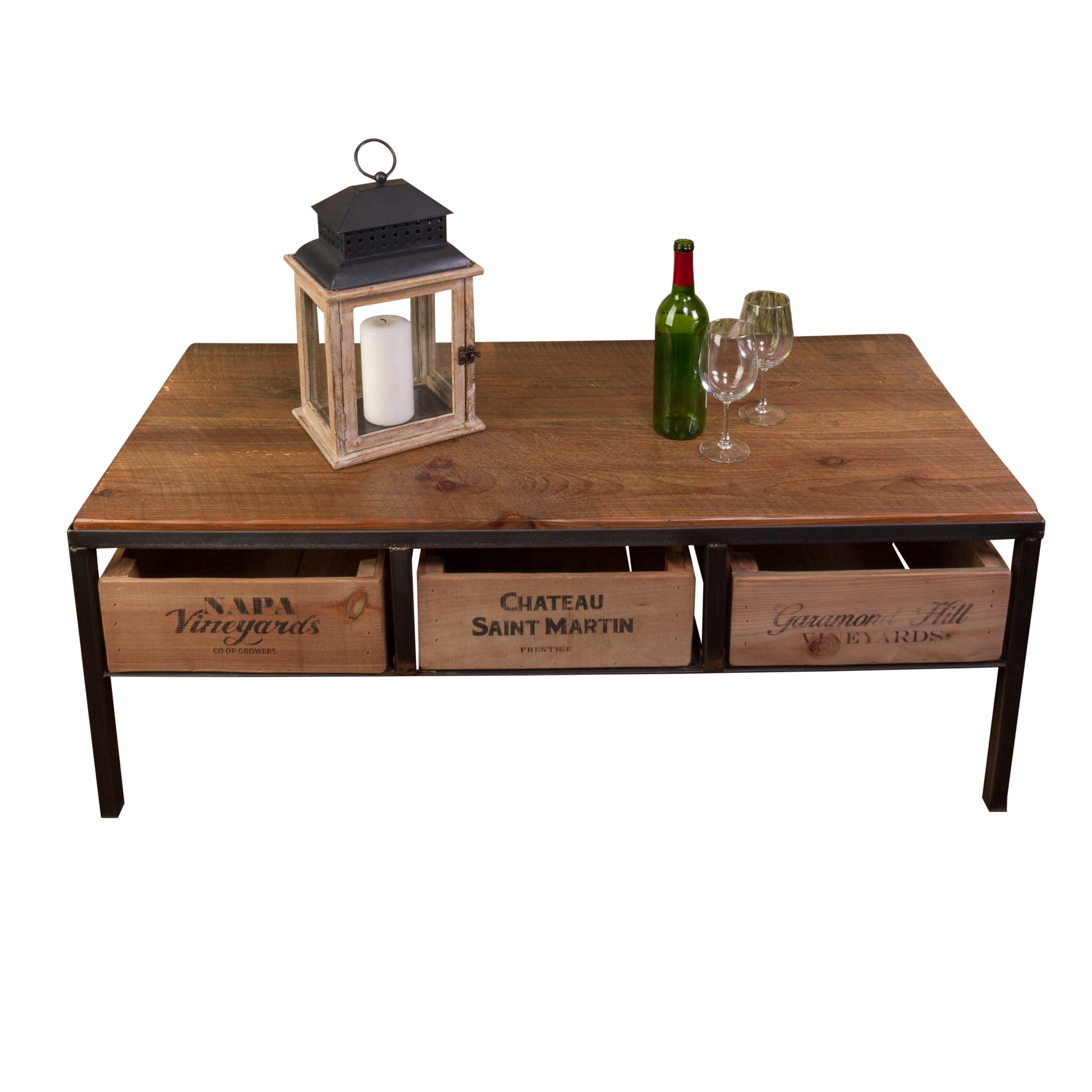 Vino vintage coffee table wayfair for Vintage coffee table