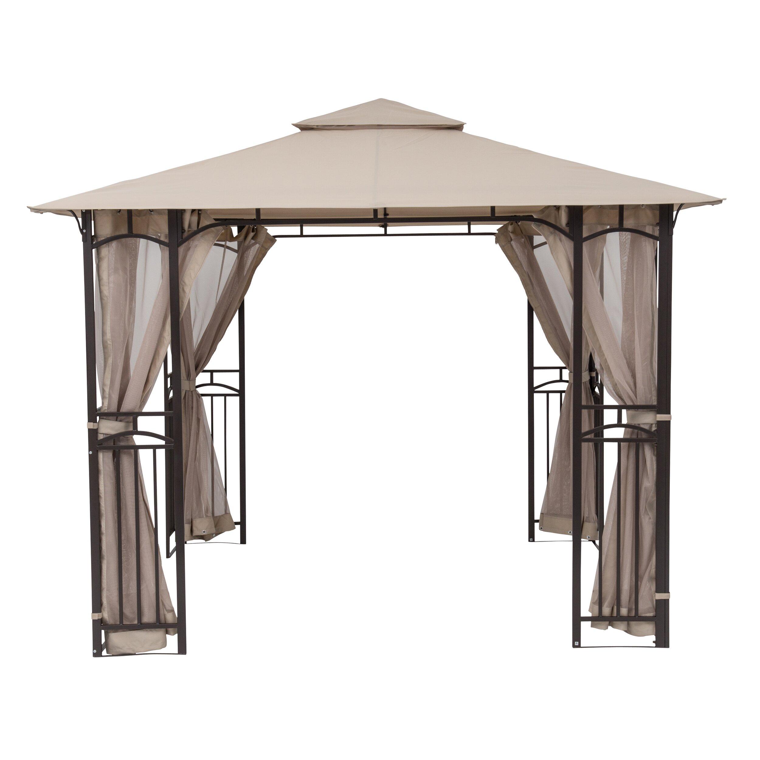 10 Ft 10 Ft Canopy : Sorara™ usa ft w d metal portable gazebo