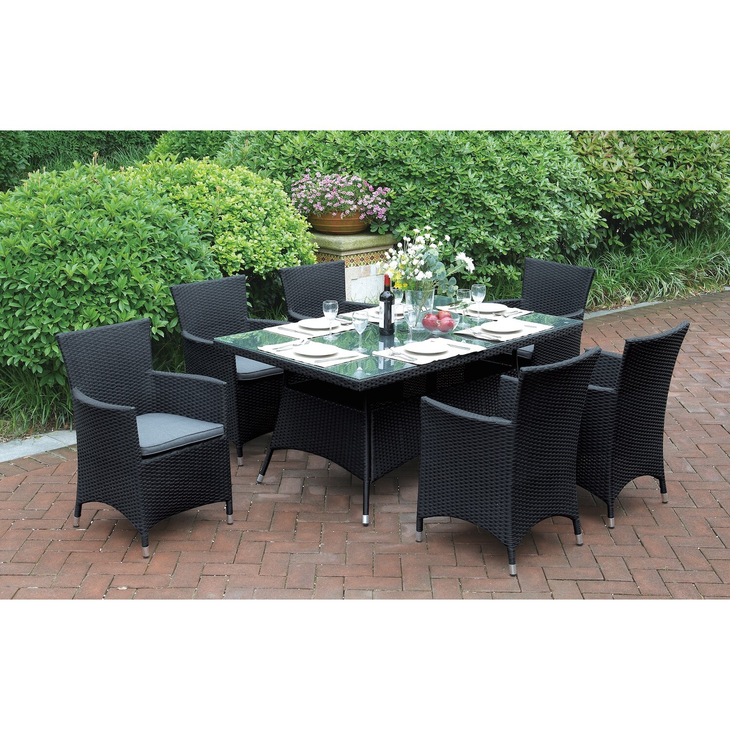 jb patio 7 piece dining set reviews