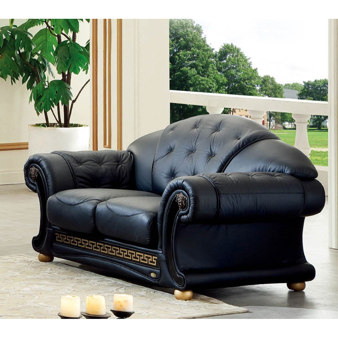 Nocidesign Noci Leather Loveseat Reviews Wayfair