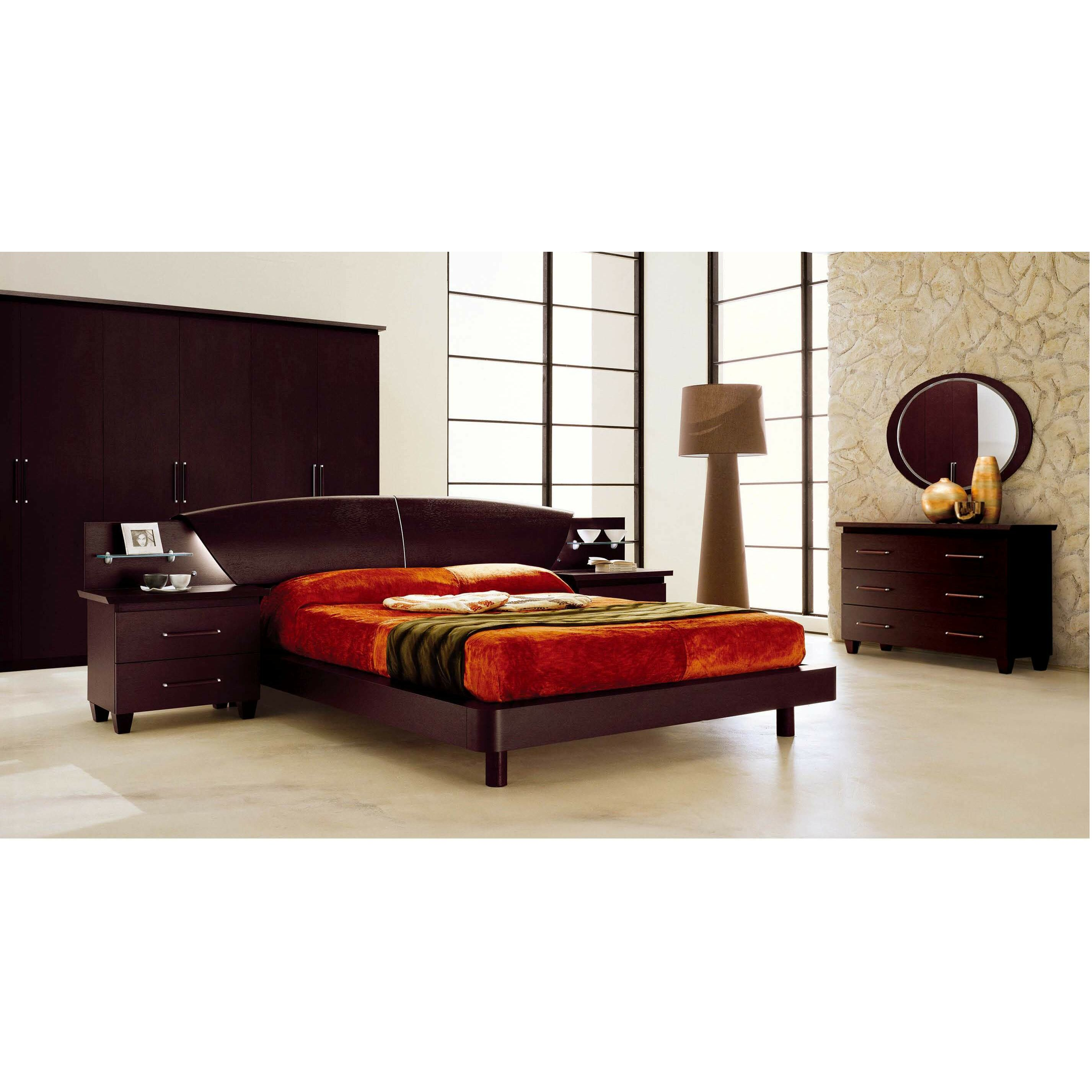 Nocidesign panel 3 piece bedroom set wayfair for Bedroom 3 piece sets