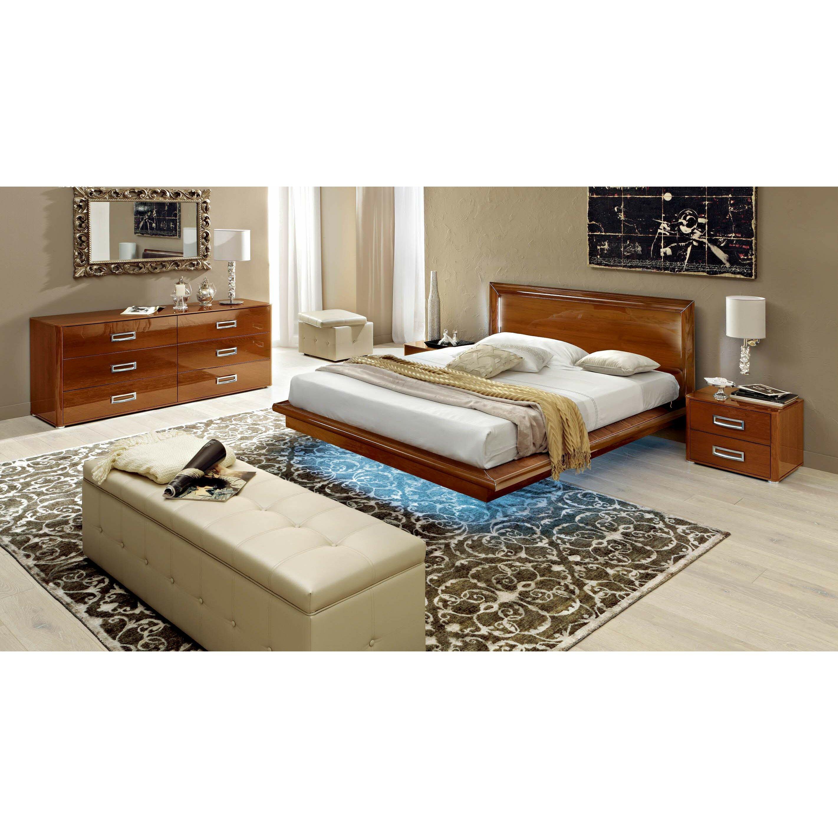 nocidesign panel 3 piece bedroom set wayfair. Black Bedroom Furniture Sets. Home Design Ideas
