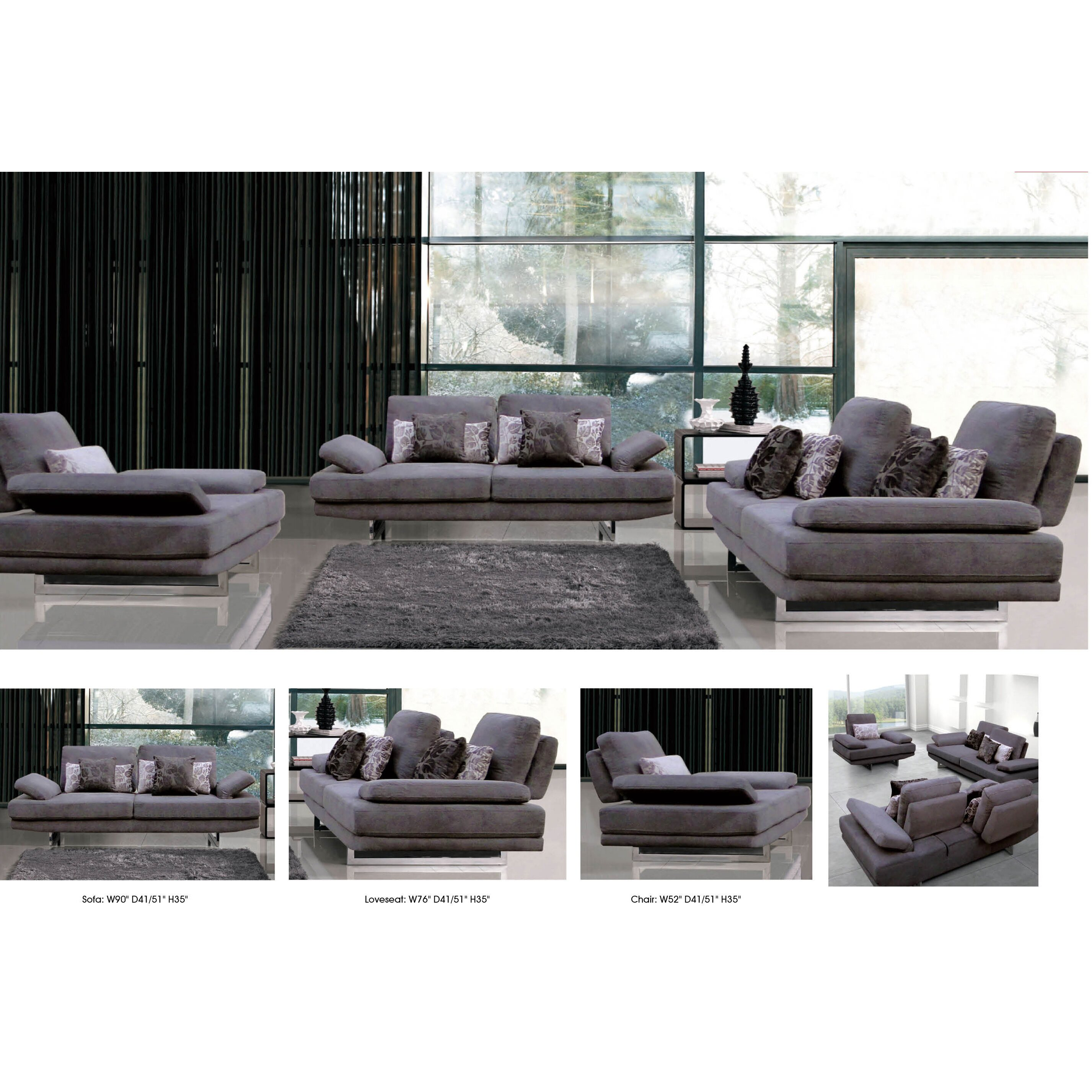 Nocidesign 3 piece living room set wayfair for 3 piece living room set