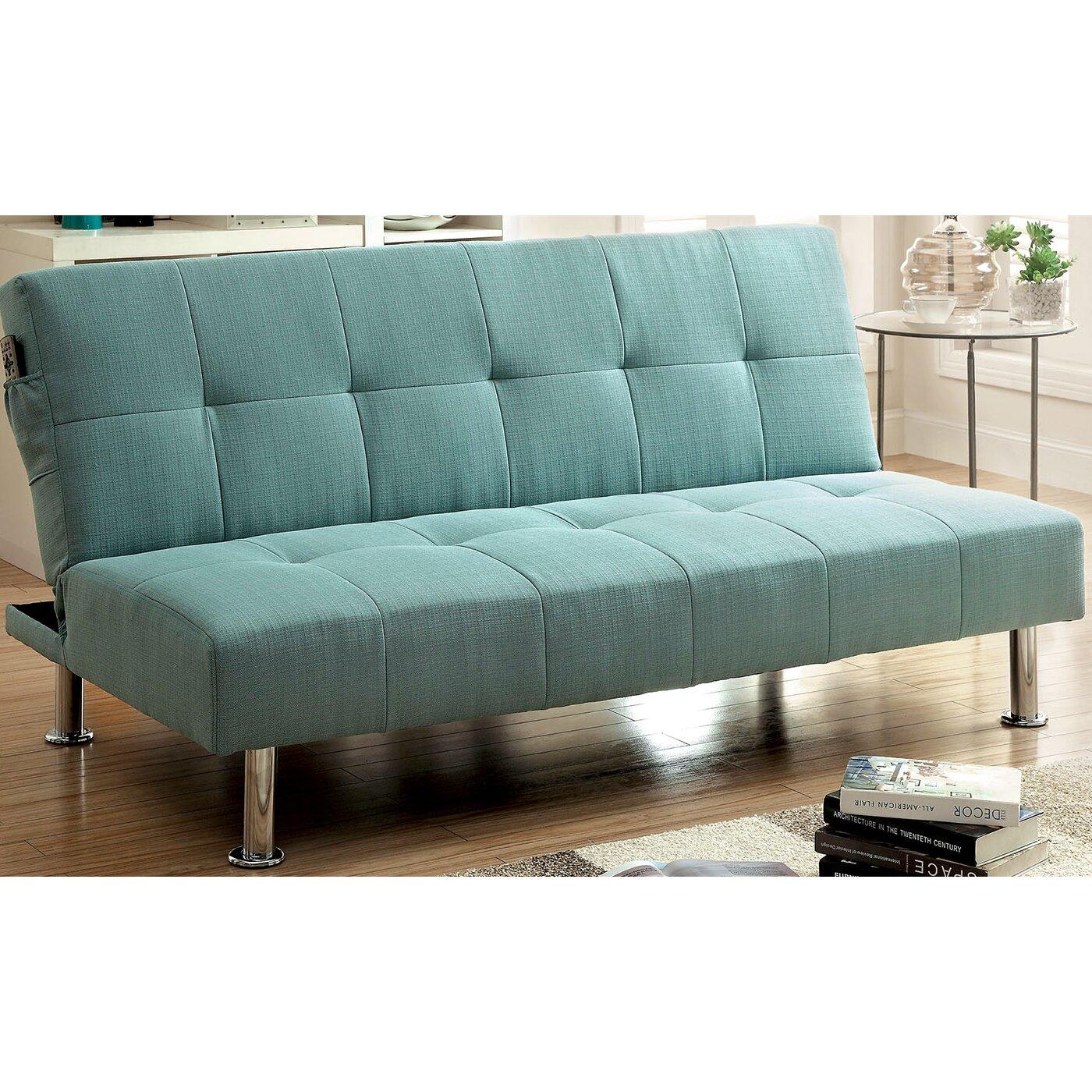 Futon Sofa Sleeper: A&J Homes Studio Tufted Futon Sleeper Sofa & Reviews