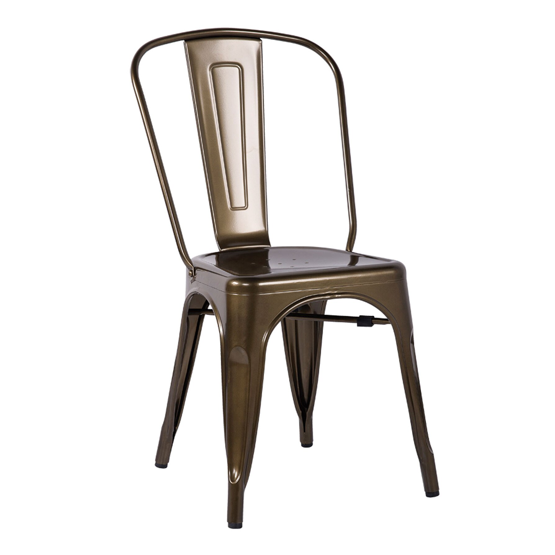 homes studio minimalist side chair wayfair