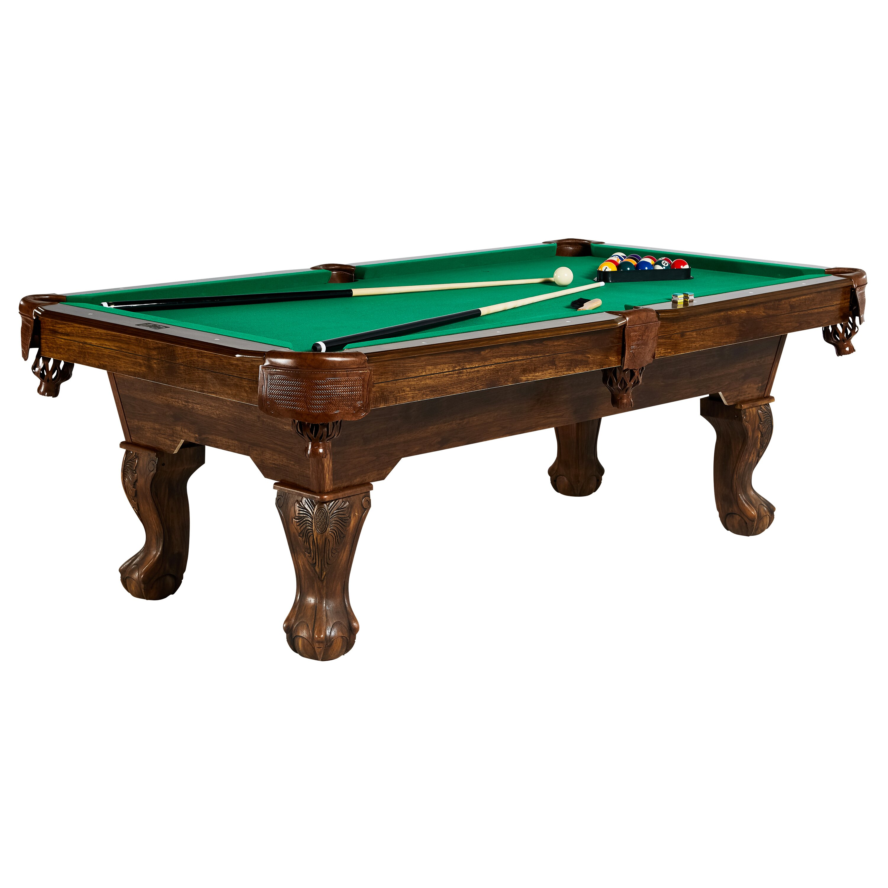 Md sports barrington springdale 7 5 39 ball and claw for 12 foot snooker table for sale
