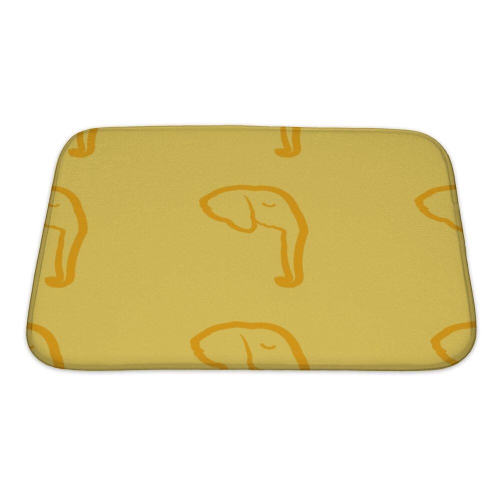 Elephant Bath Rug