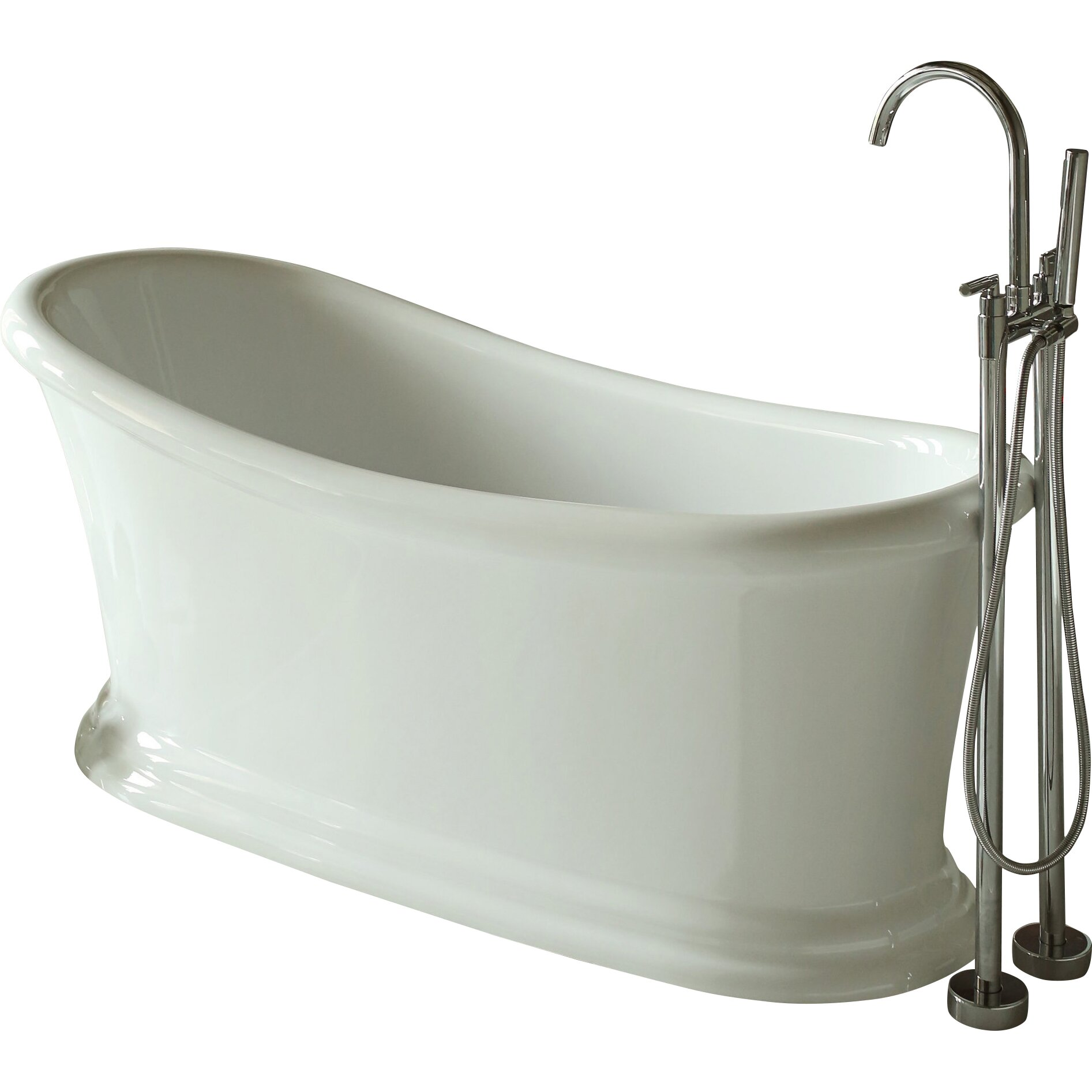 Signature Bathtubs 28 Images Signature Bath 67 Quot X 31 Quot Soaking Bathtub Wayfair