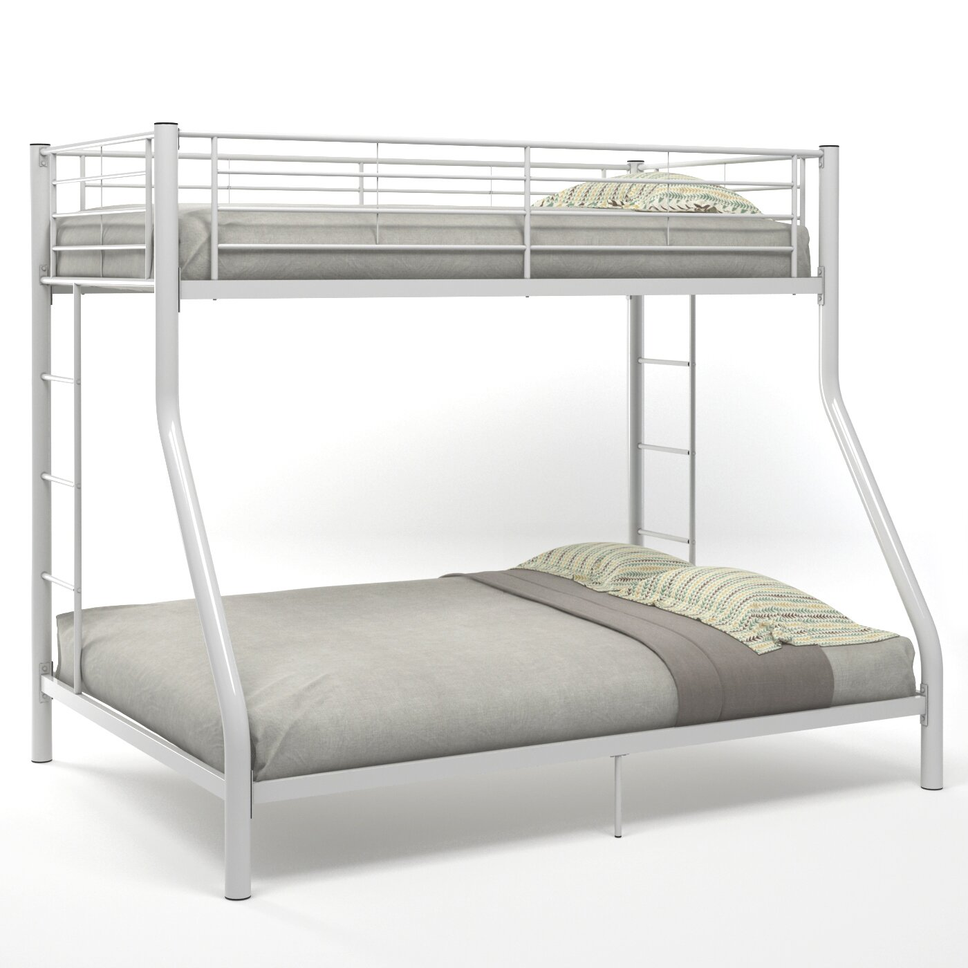 Gibson living cynthia twin over full bunk bed wayfair for Cynthia storage bed