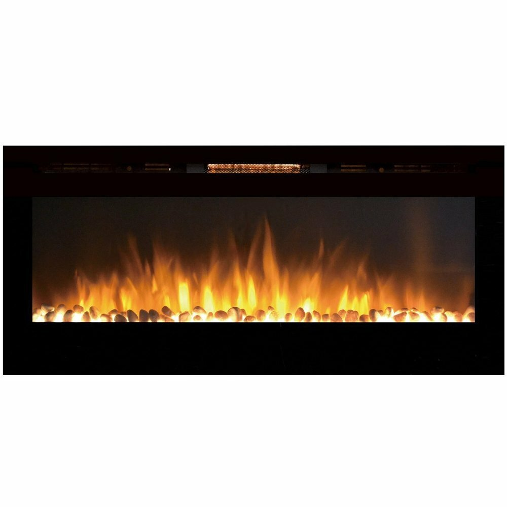 Gibson Living Sydney Pebble Wall Mount Electric Fireplace ...