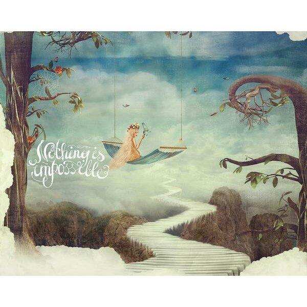 ohpopsi fairytale wall mural wayfair uk
