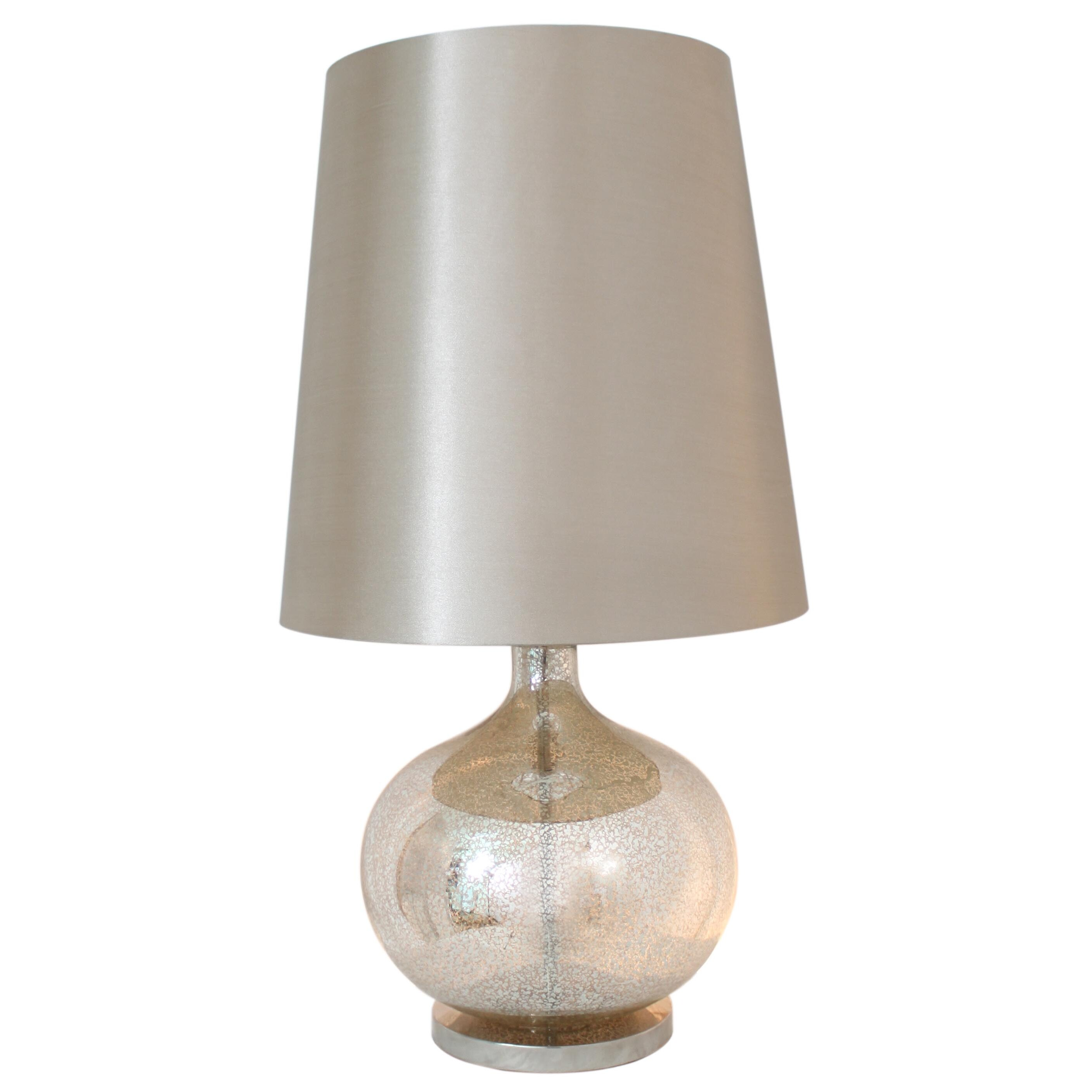 avalon lane native glass ball table lamp wayfair. Black Bedroom Furniture Sets. Home Design Ideas