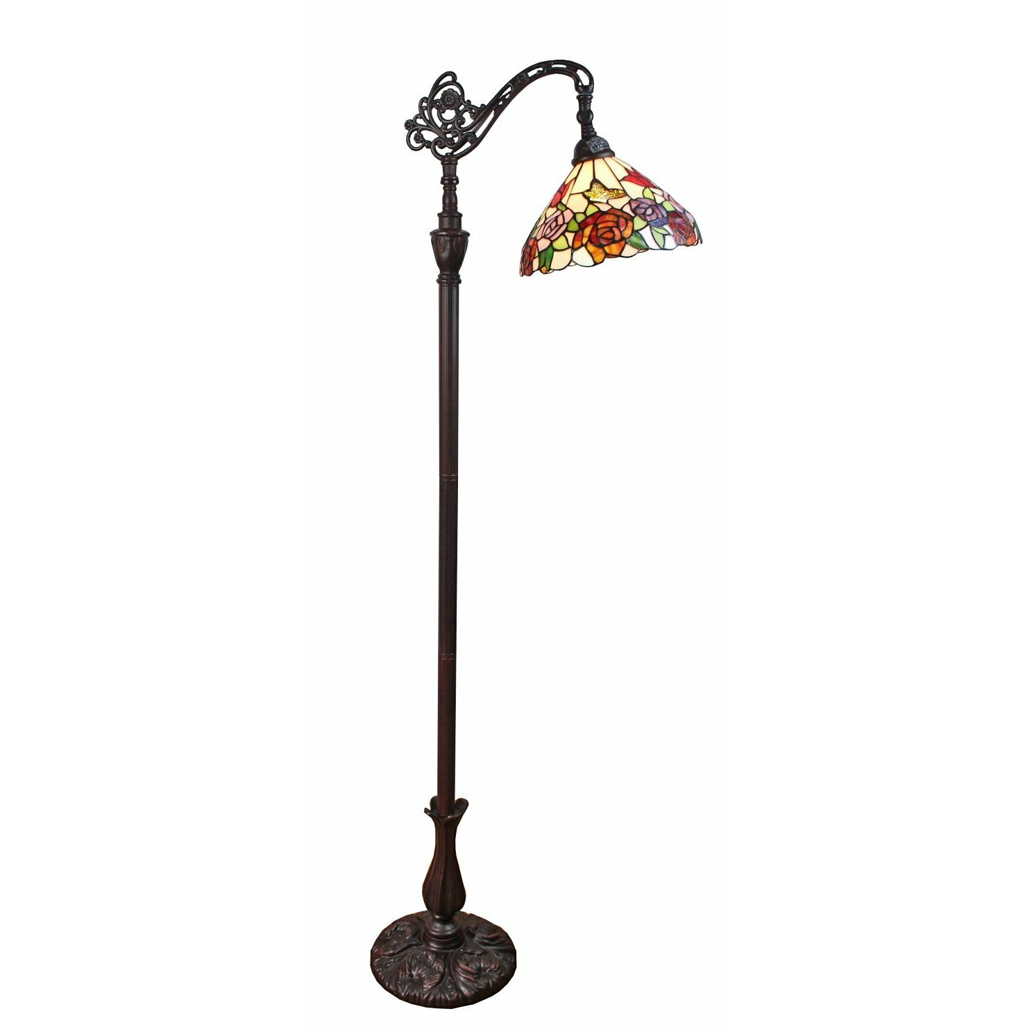 Amoralighting roses 62 task floor lamp for Task lighting floor lamp