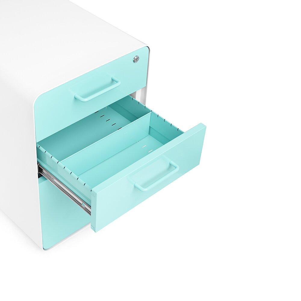 Poppin 3 Drawer File Cabinet Amp Reviews Wayfair