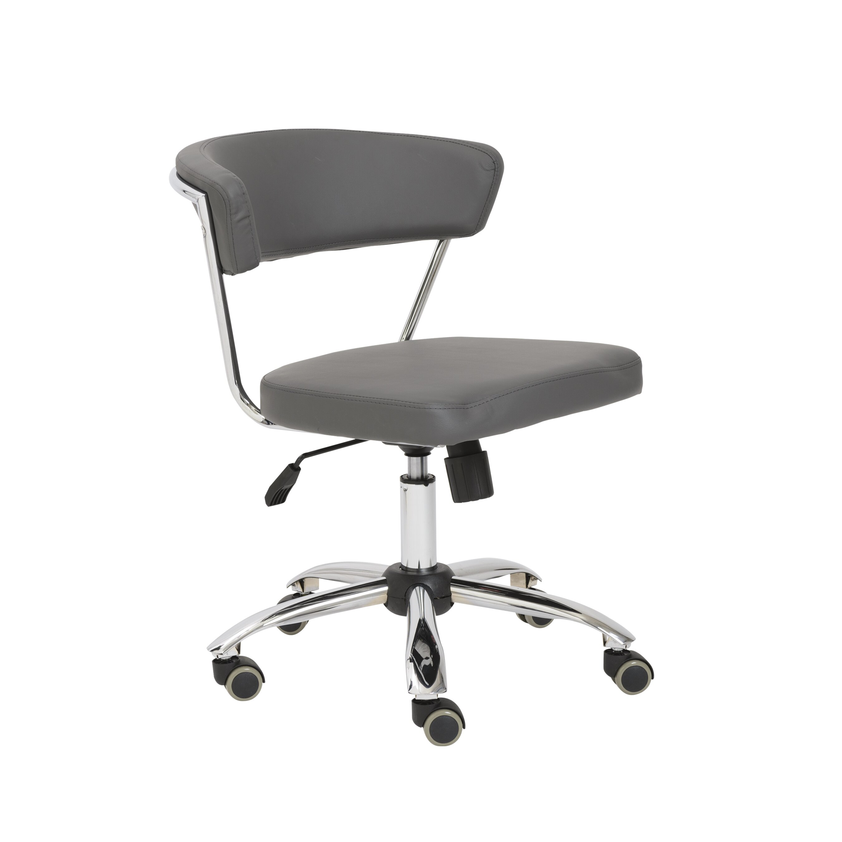 eurostyle draco leather office chair reviews wayfair