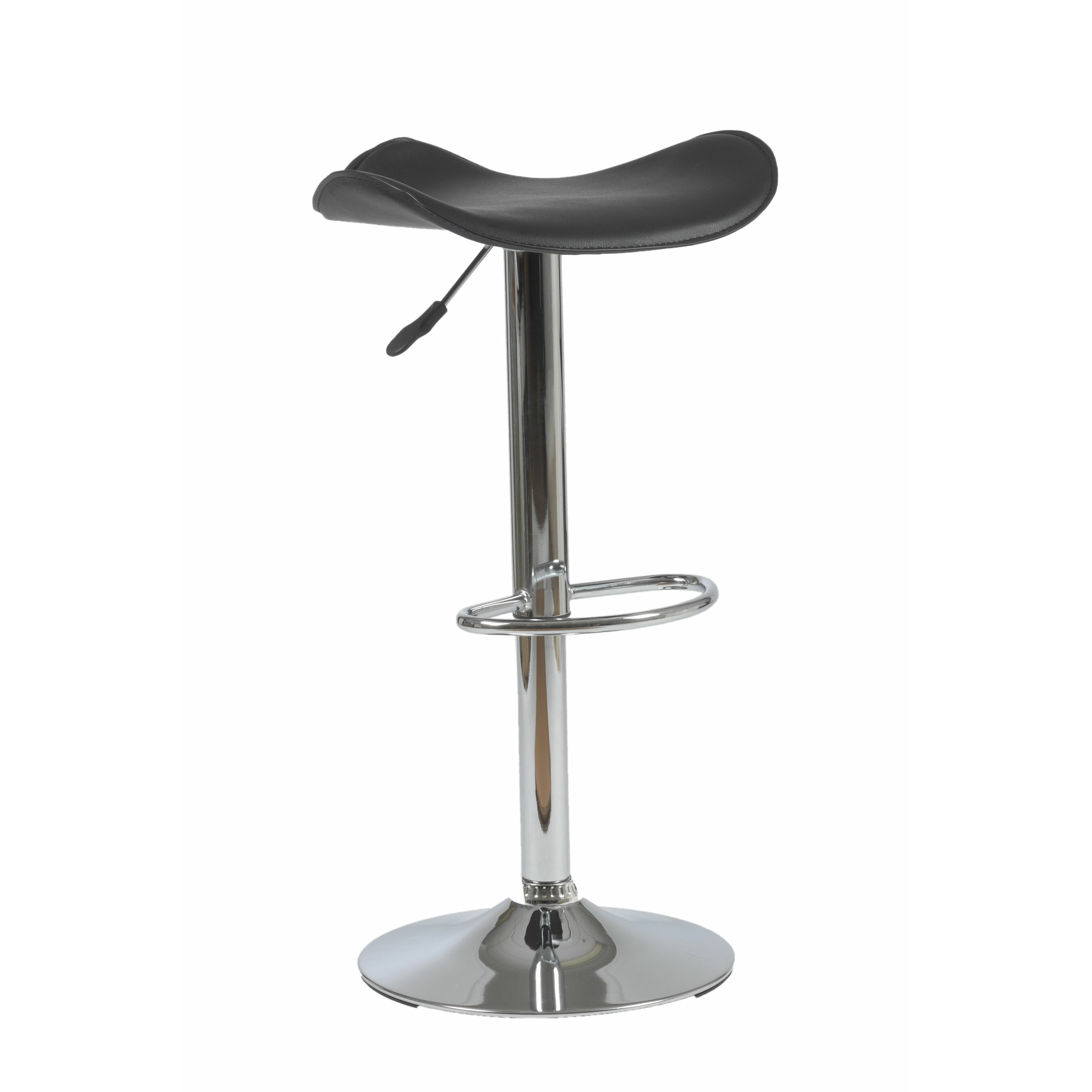 Eurostyle fabia adjustable height swivel bar stool for Adjustable height bar stools