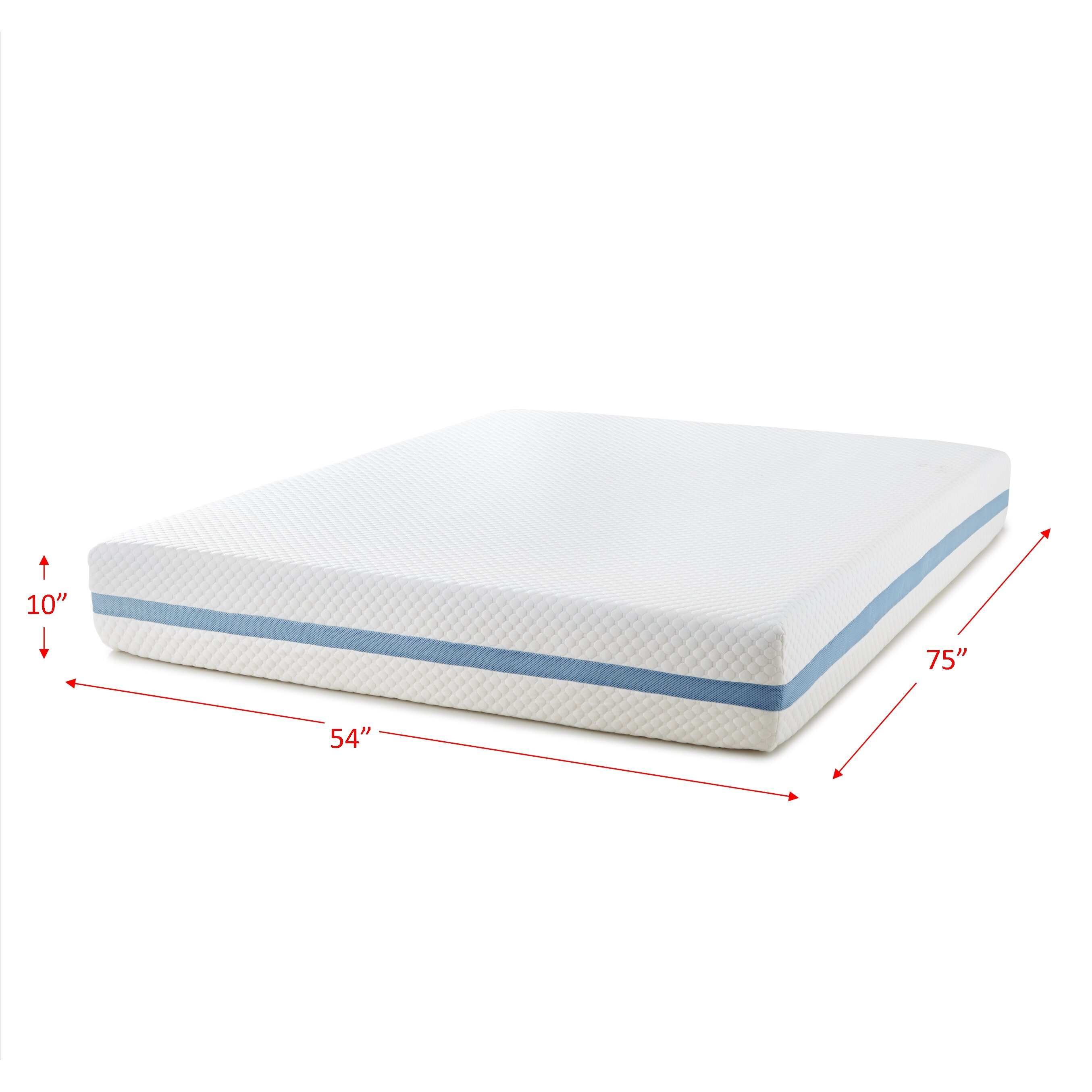 Simple sleep simple gel memory foam mattress wayfair Mattress sale memory foam