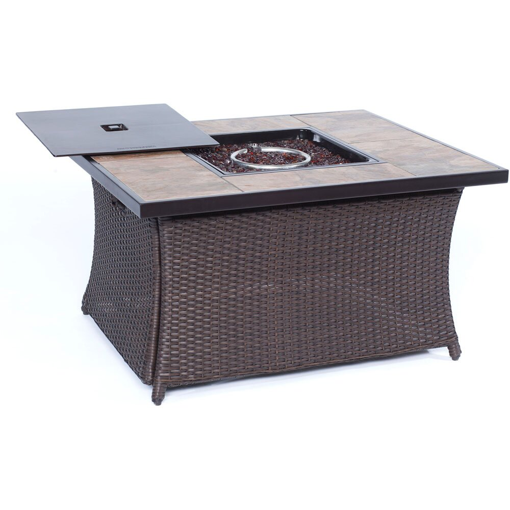 Cambridge Propane Fire Pit Table Reviews Wayfair