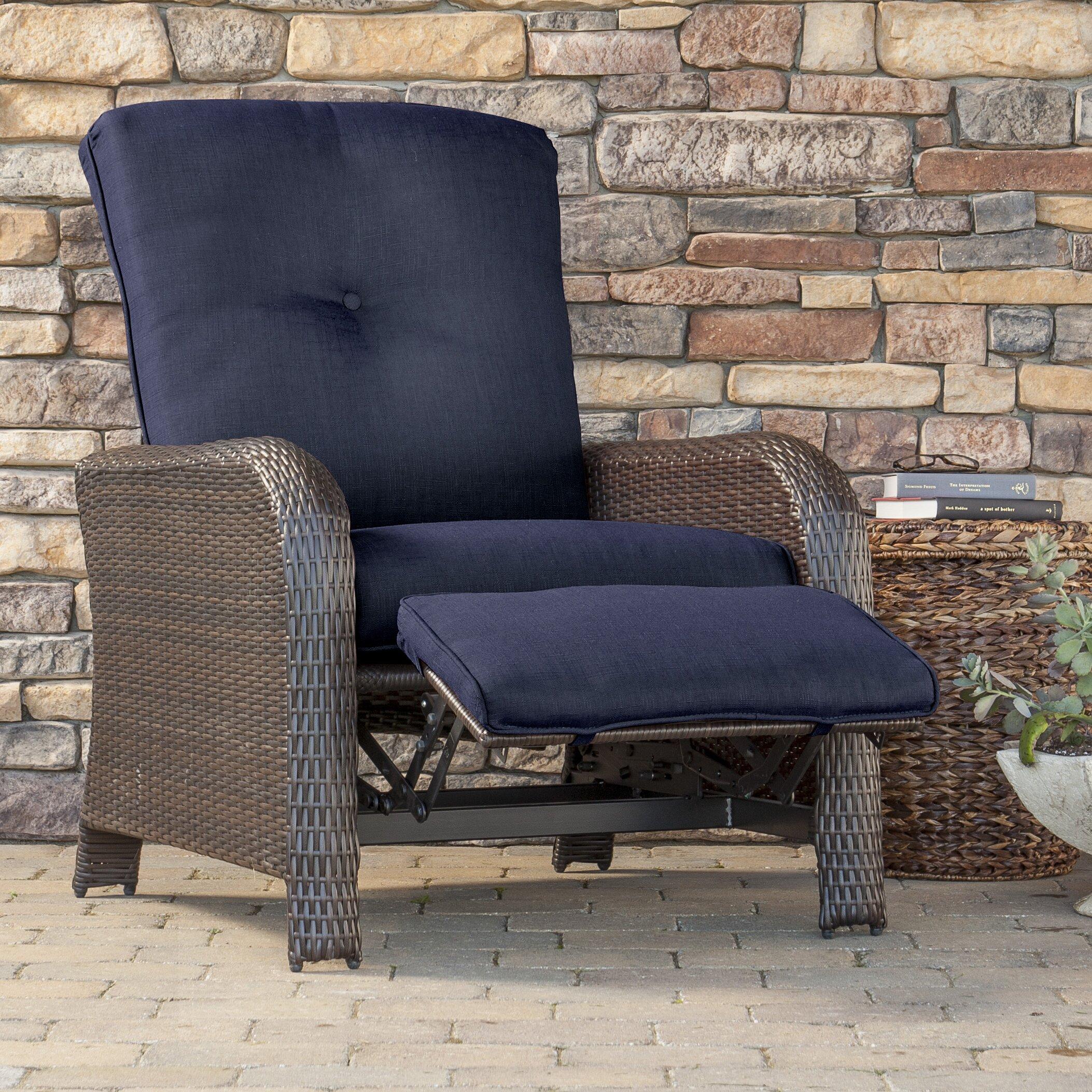 Cambridge Corolla Luxury Recliner Chair With Cushion Wayfair