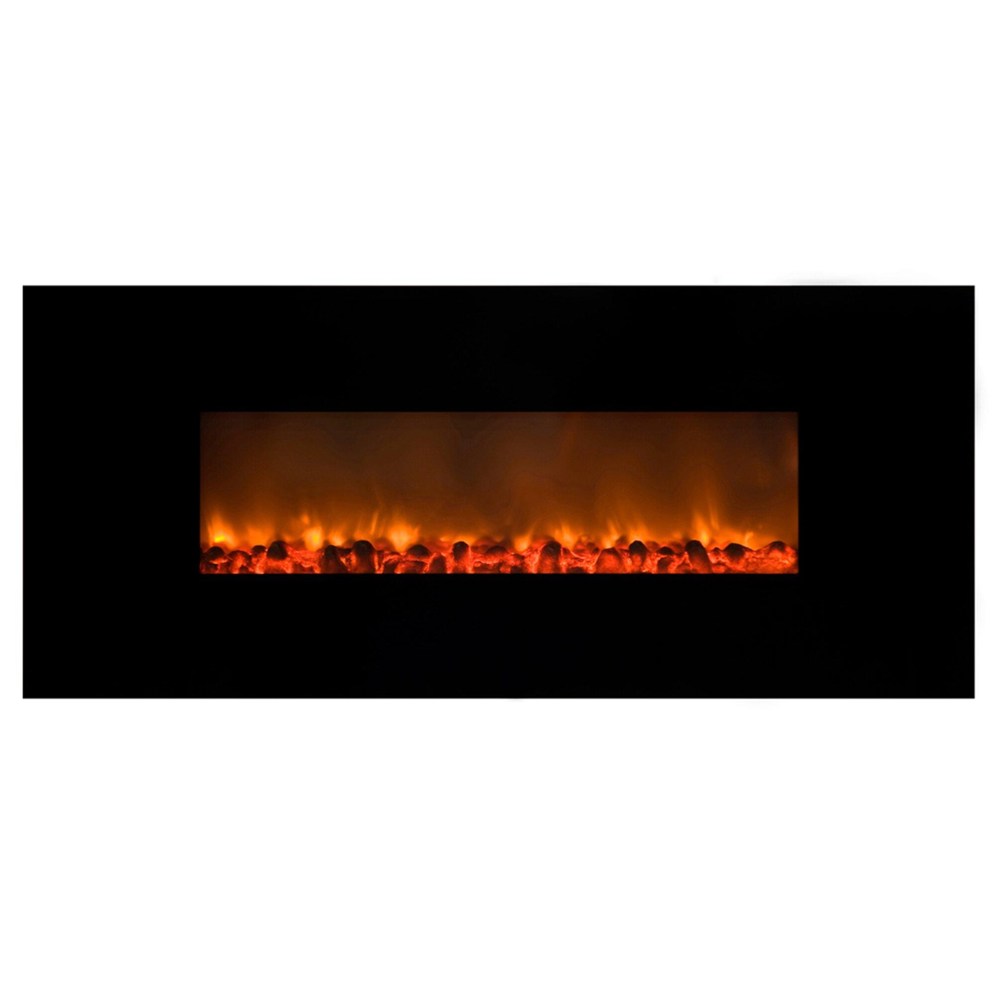Y Decor Mood Setter Wall Mount Electric Fireplace Wayfair