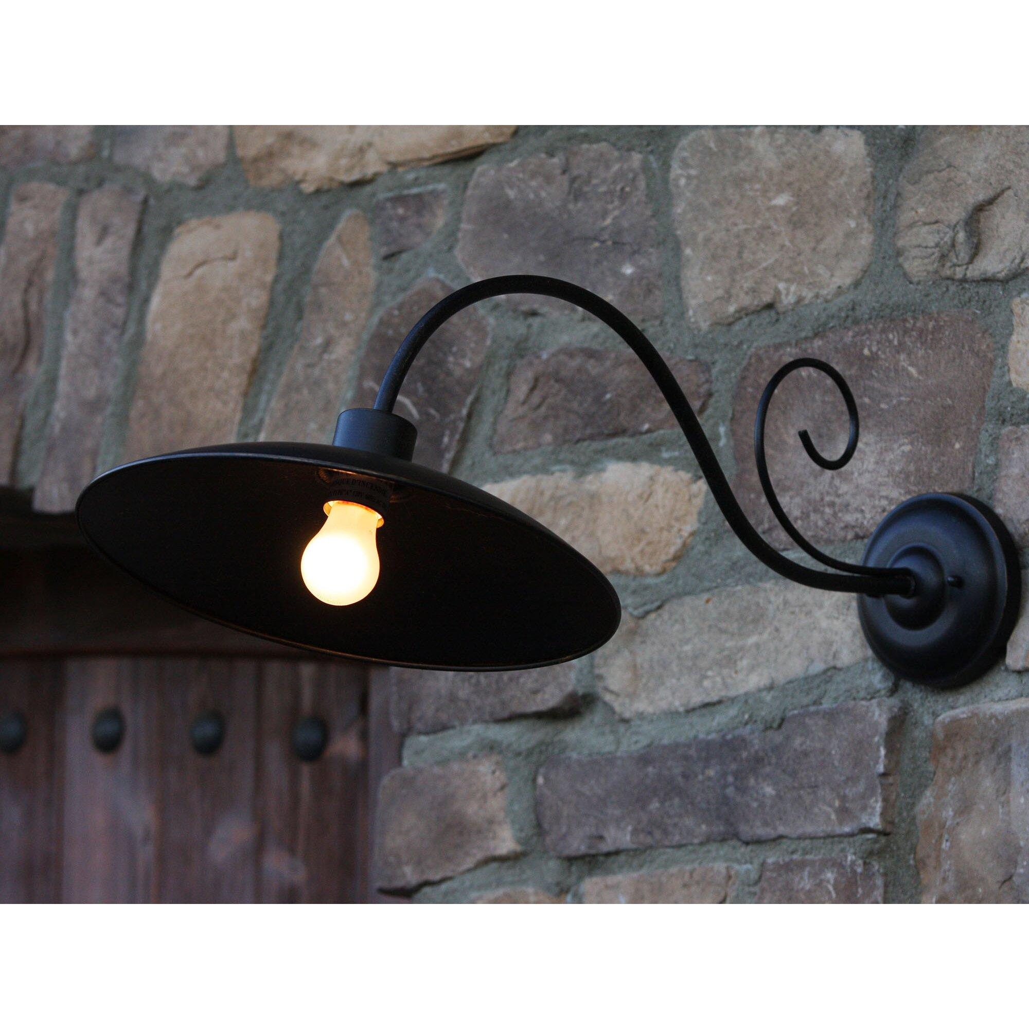 Y Decor Thomas 1 Light Outdoor Barn Light Wayfair