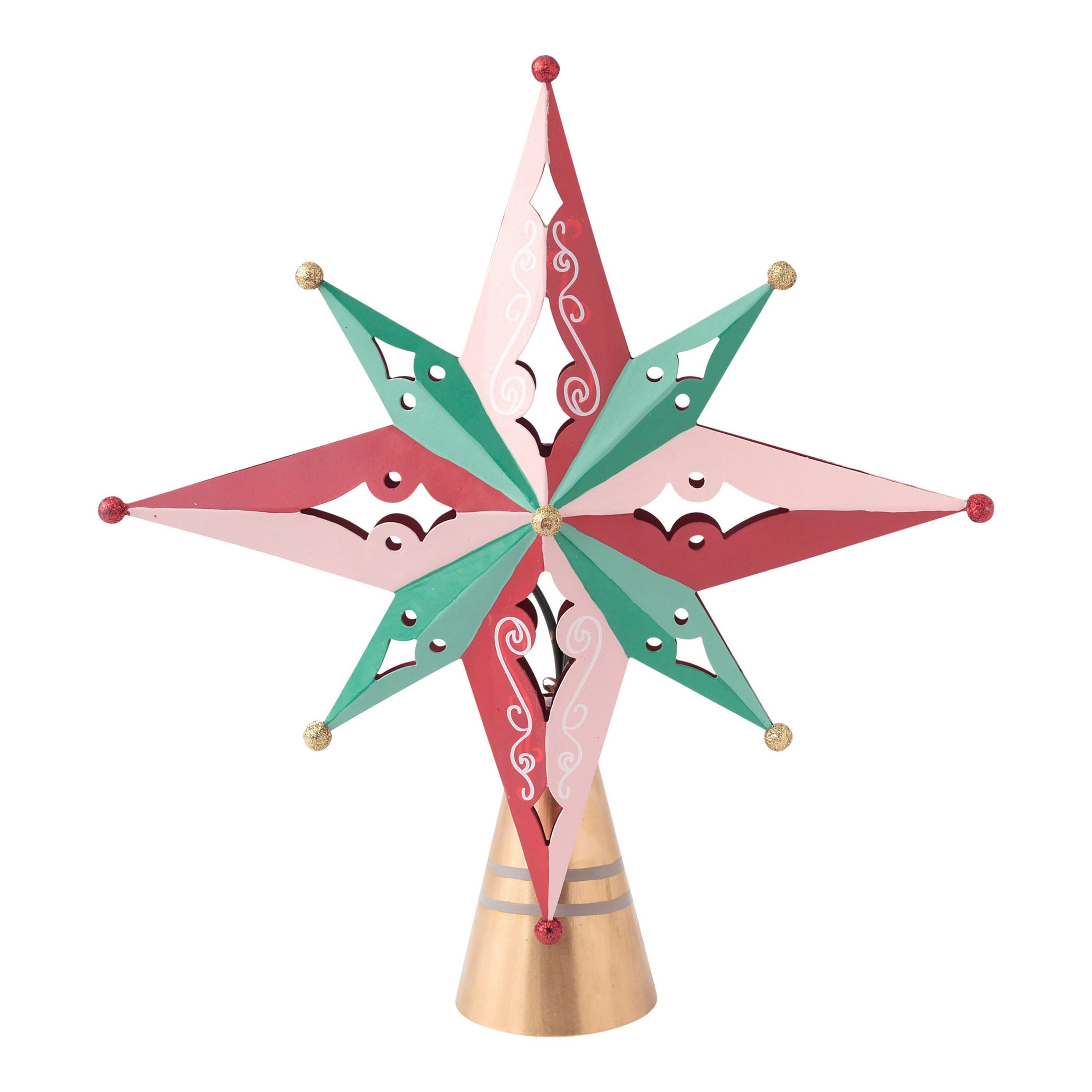 Hallmark Home Amp Gifts Vintage Inspired Holiday Star Tree