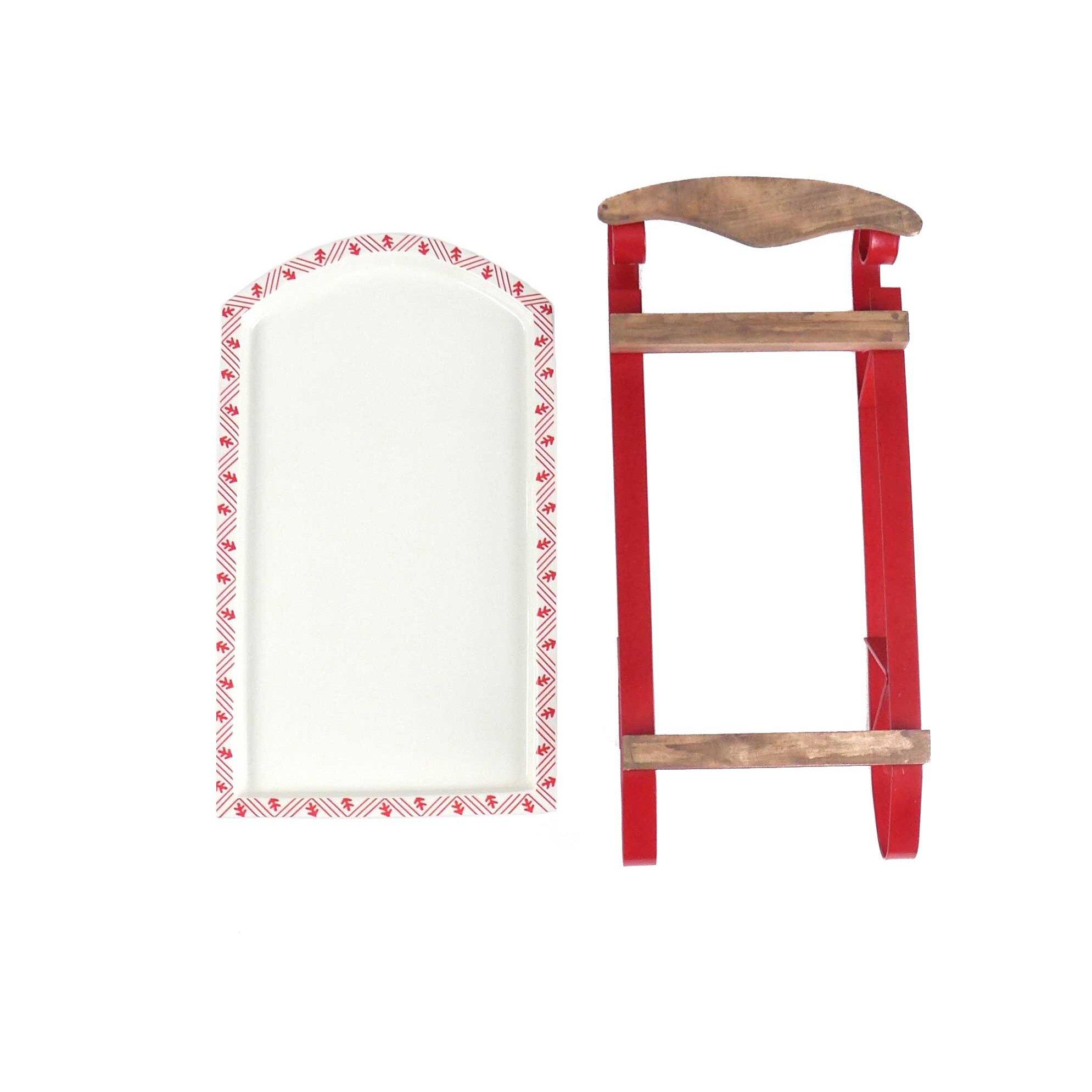 Hallmark Home & Gifts Holiday Serving Sleigh Platter ...