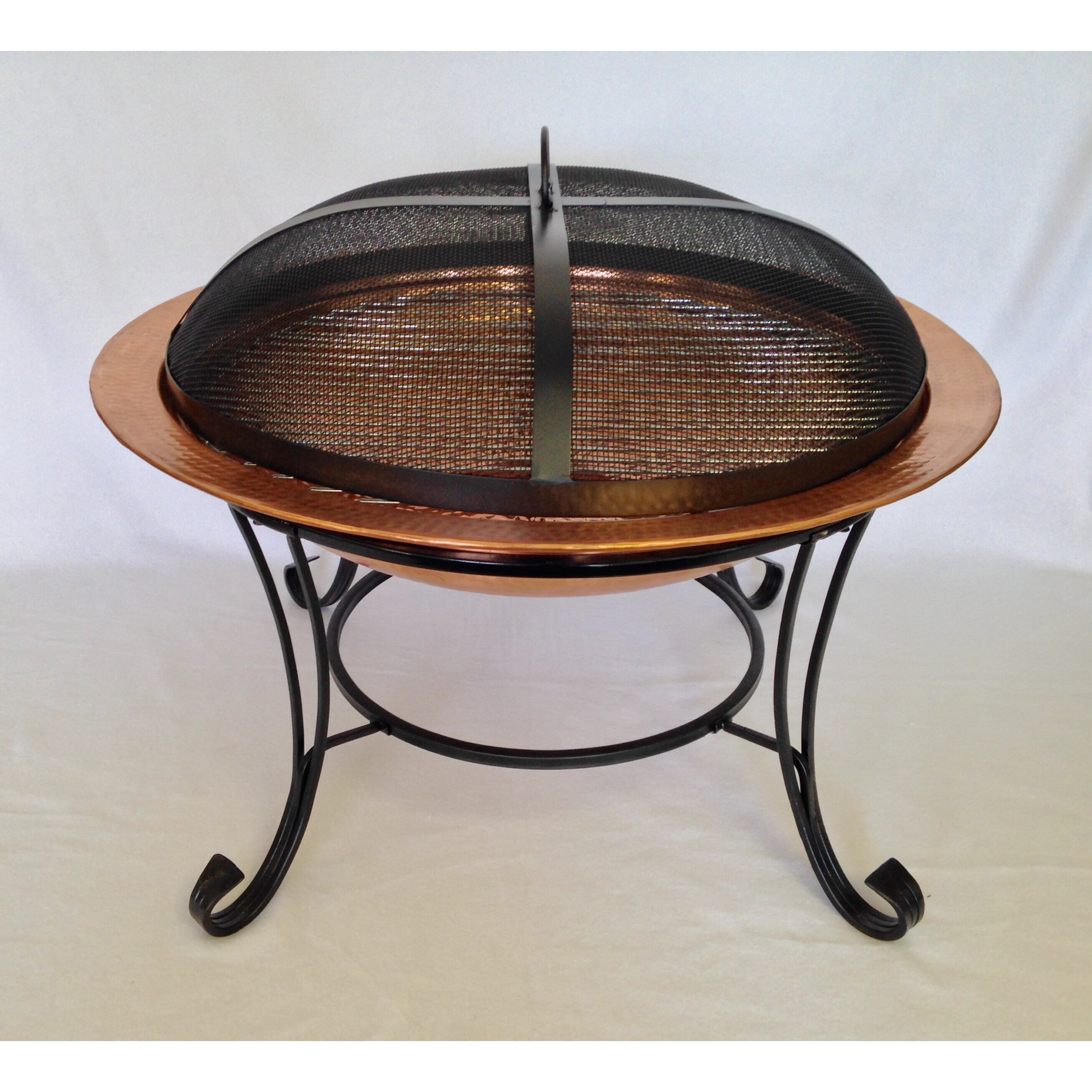 Pomegranate Solutions Heavy Duty Dome Fire Pit Spark ...