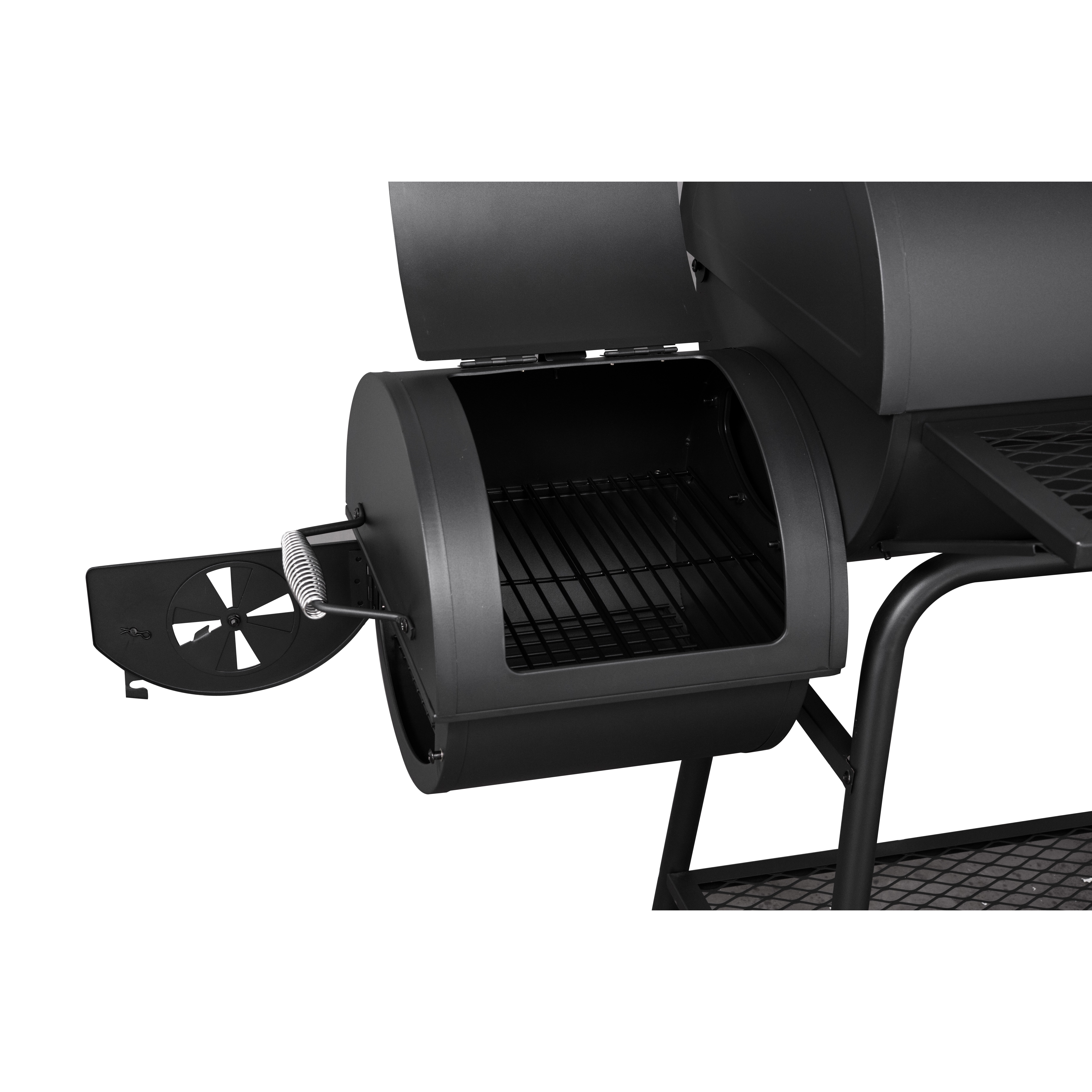 royal gourmet 45 3 charcoal grill with offset smoker reviews. Black Bedroom Furniture Sets. Home Design Ideas