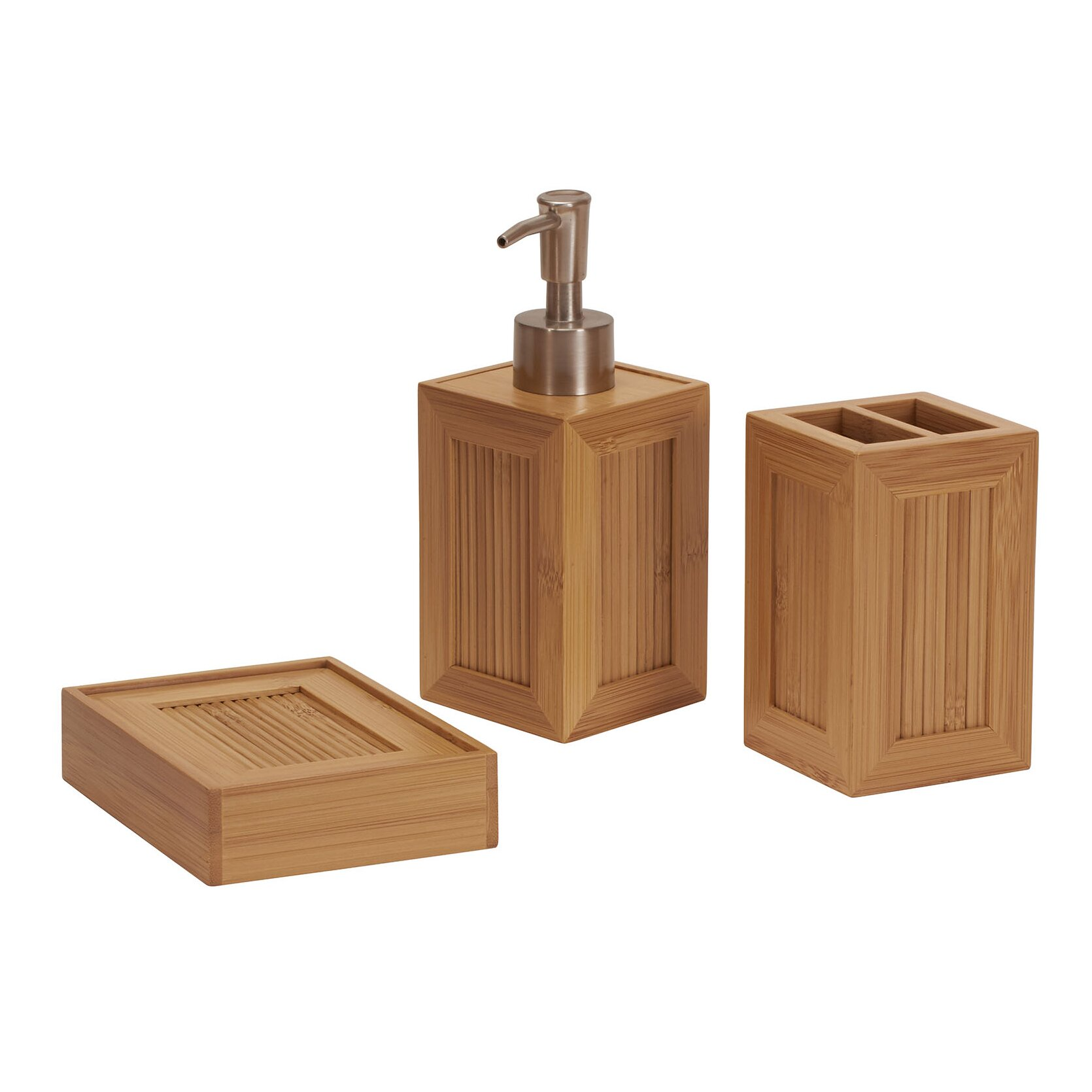 The Twillery Co Shaw 3 Piece Bathroom Accessory Set