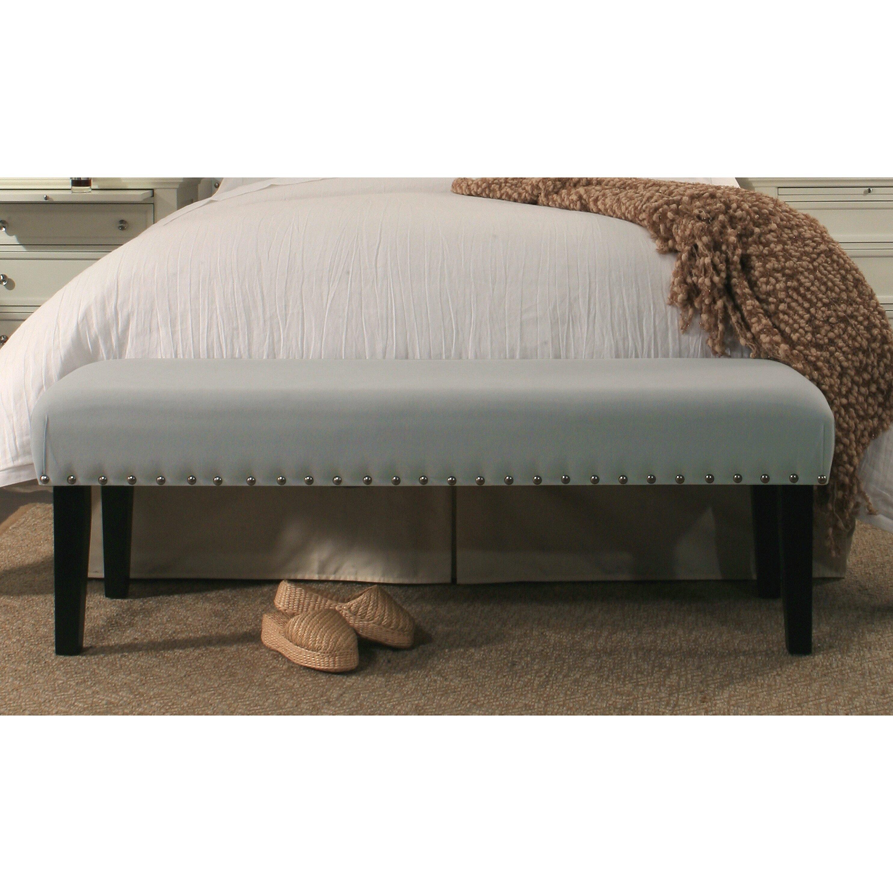 RepublicDesignHouse Inspirations Upholstered Bedroom Bench