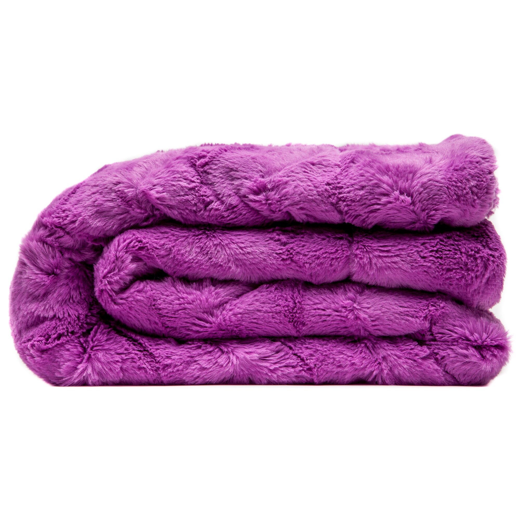 Chanasya super soft warm elegent waivey pattern cozy for Sherpa blanket